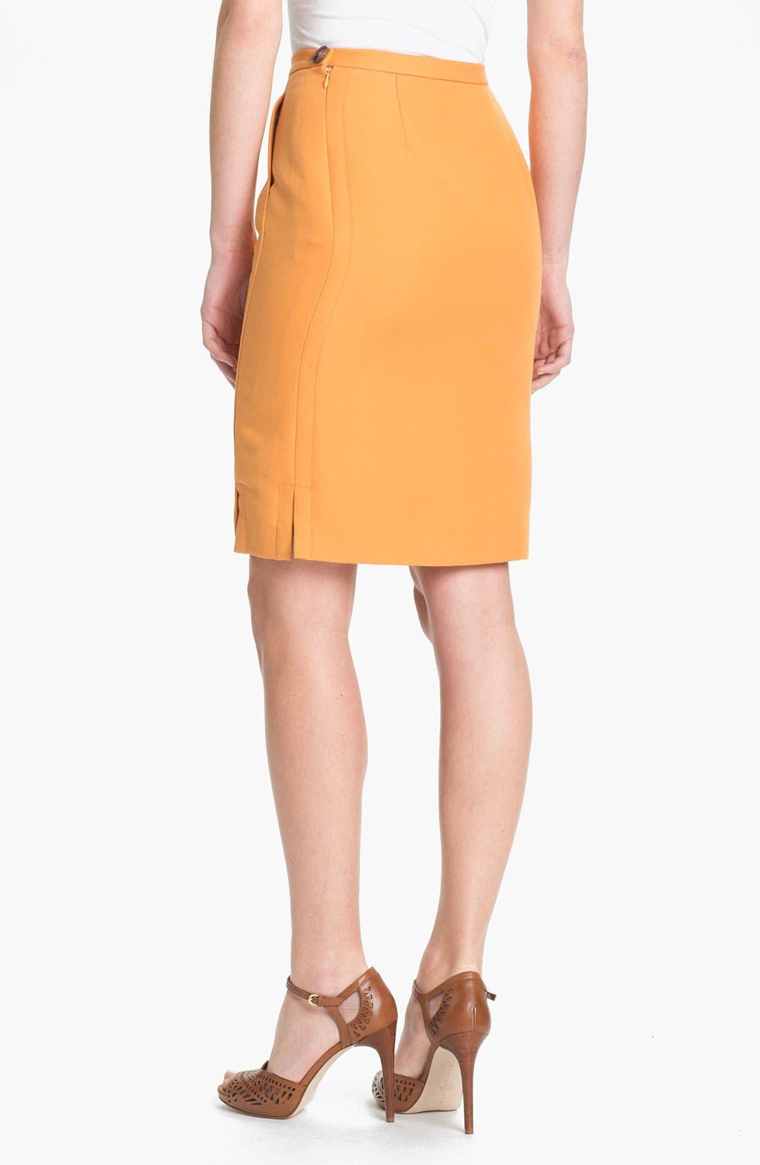 Alternate Image 2  - Lafayette 148 New York 'Sofia - Retro Cloth' Skirt