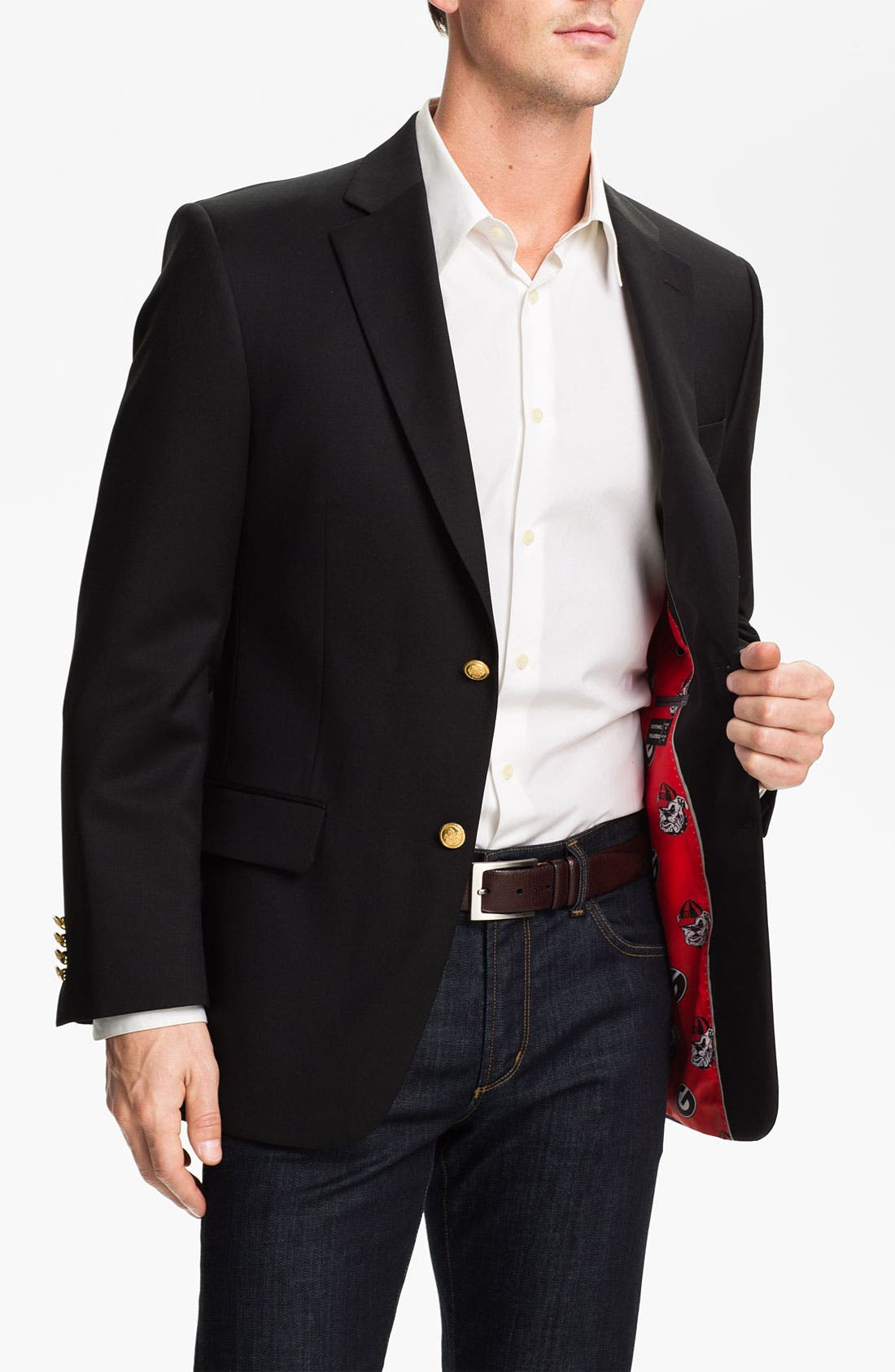 Main Image - S. Cohen 'University of Georgia' Blazer (Online Only)