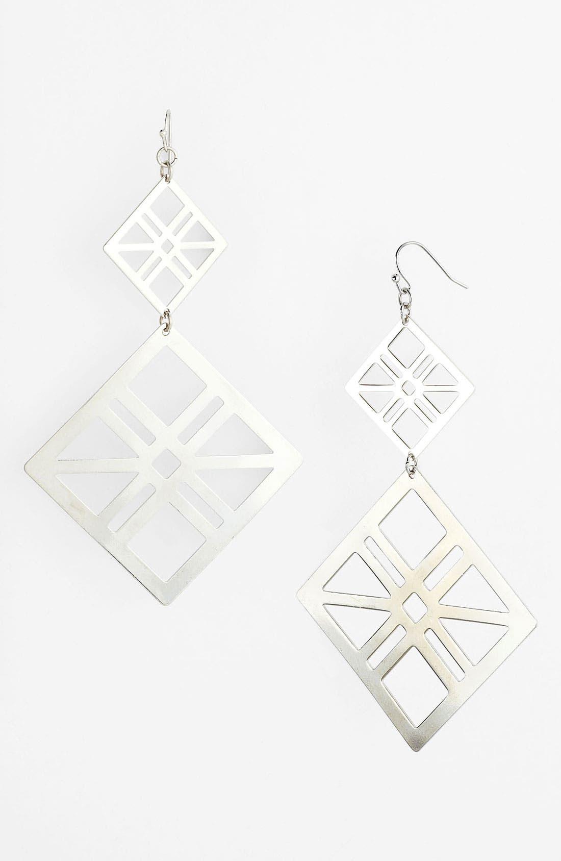 Alternate Image 1 Selected - Panacea Geometric Earrings