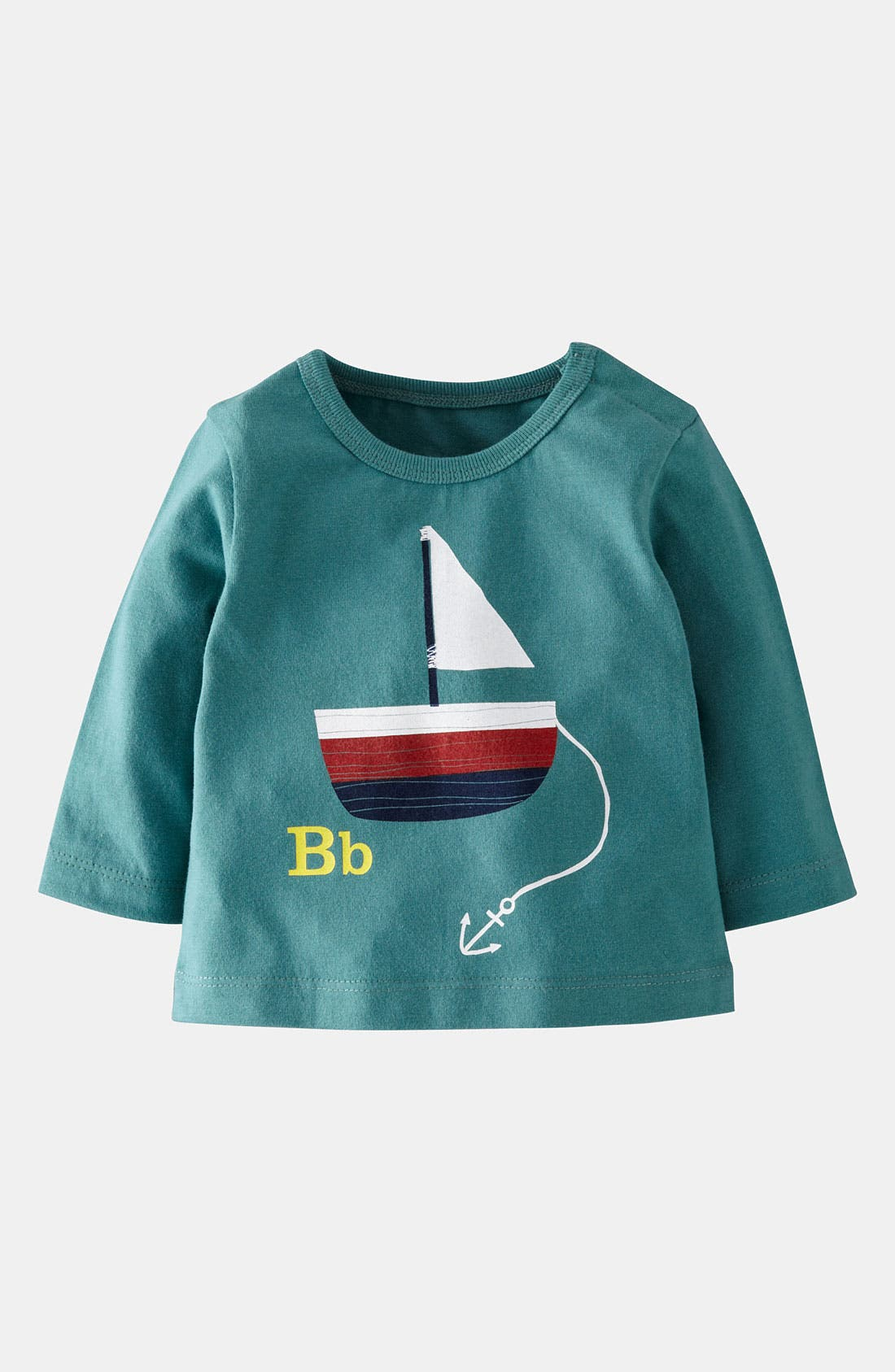 Main Image - Mini Boden 'Alphabet Print' T-Shirt (Infant)