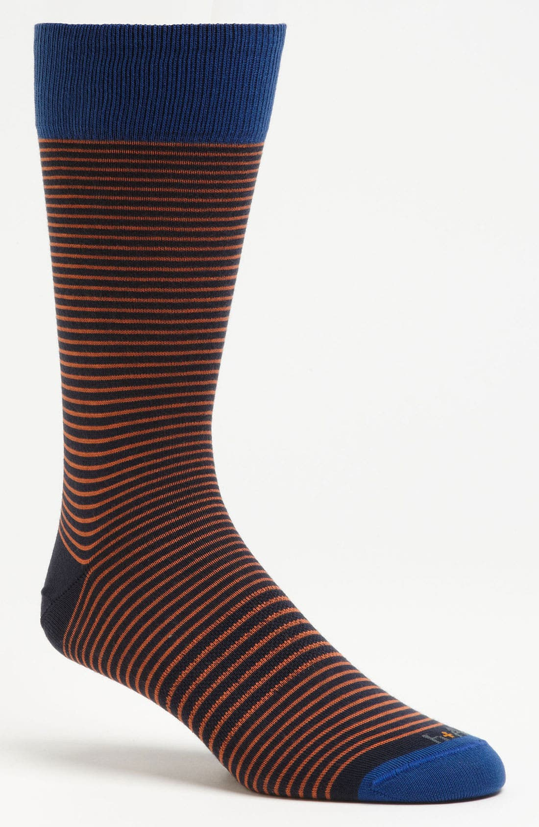 Alternate Image 1 Selected - hook + ALBERT Stripe Socks