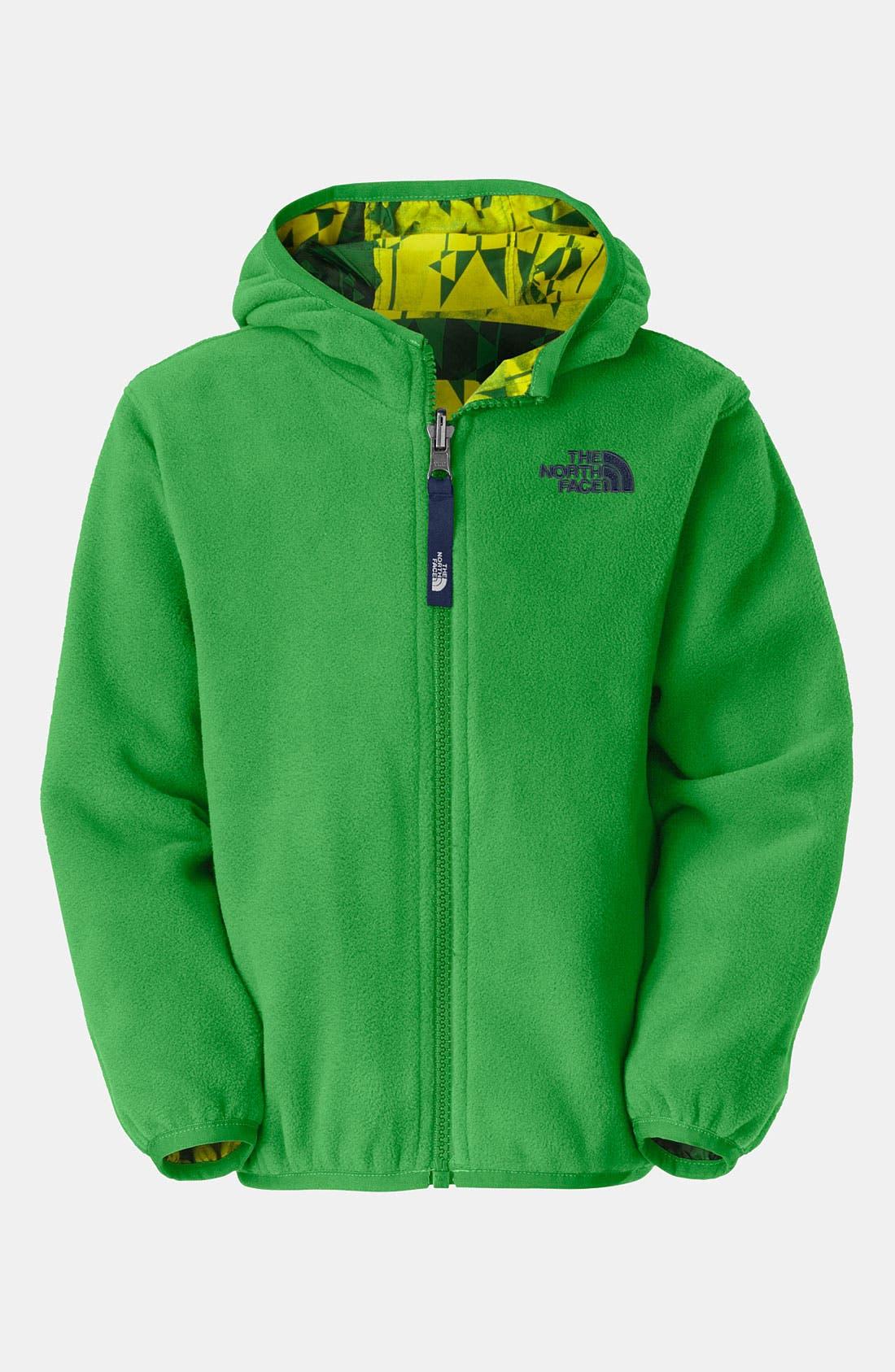 Main Image - The North Face 'Holografix' Reversible Wind Jacket (Toddler)