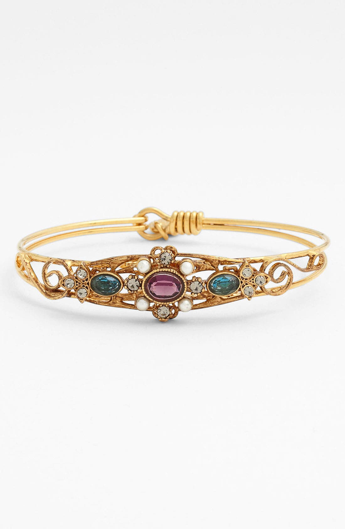 Main Image - Ollipop 'Vintage Gold' Bangle