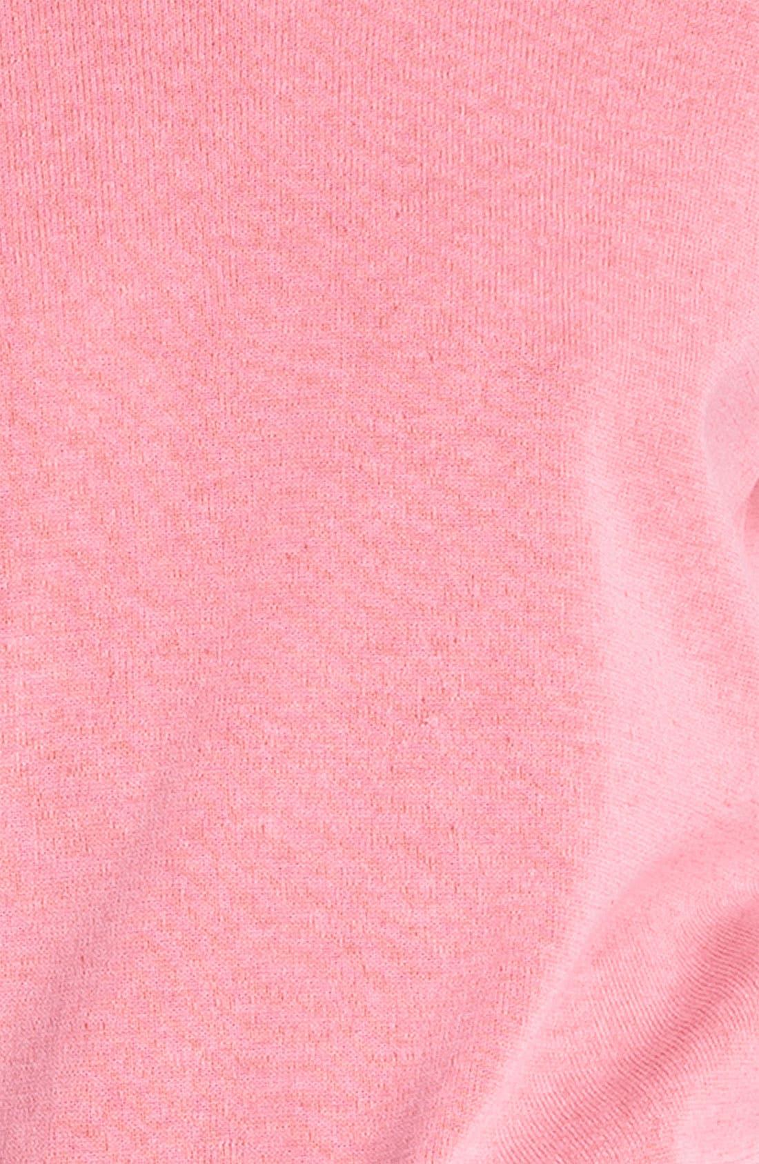 Alternate Image 5  - Tibi Reversible Neon Plaited Sweatshirt