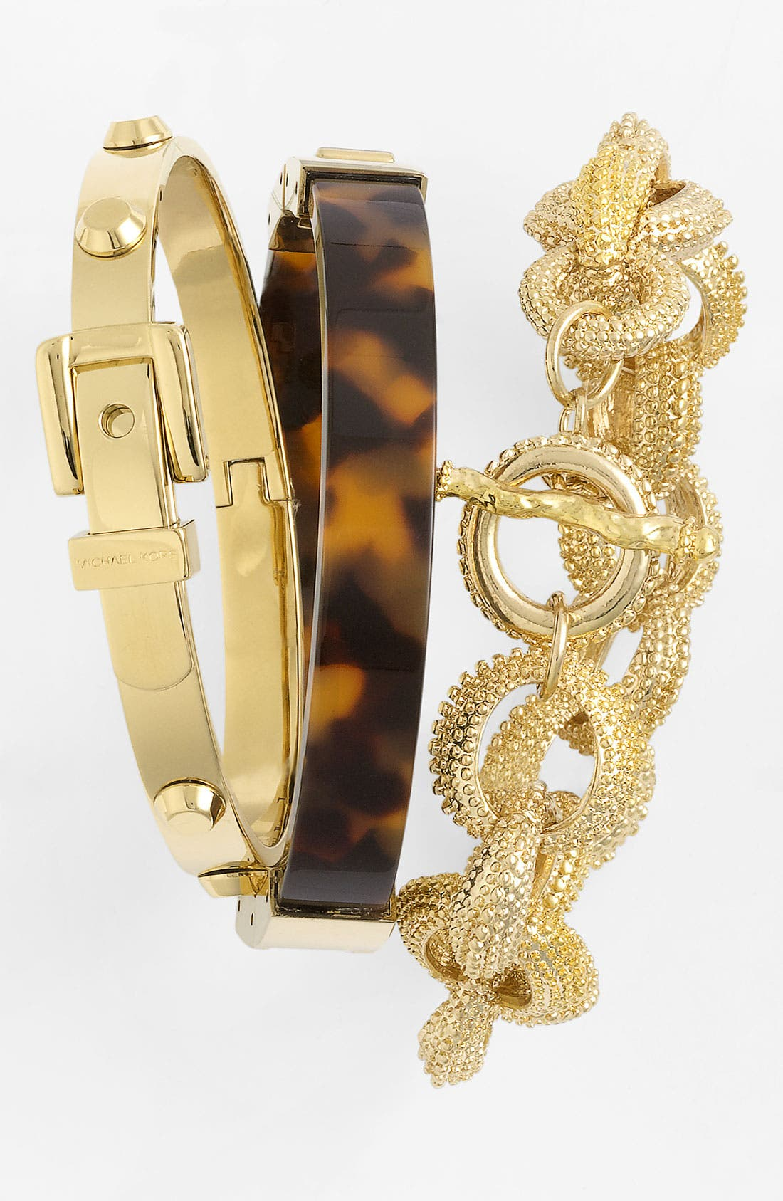 Alternate Image 2  - Michael Kors Hinged Bangle