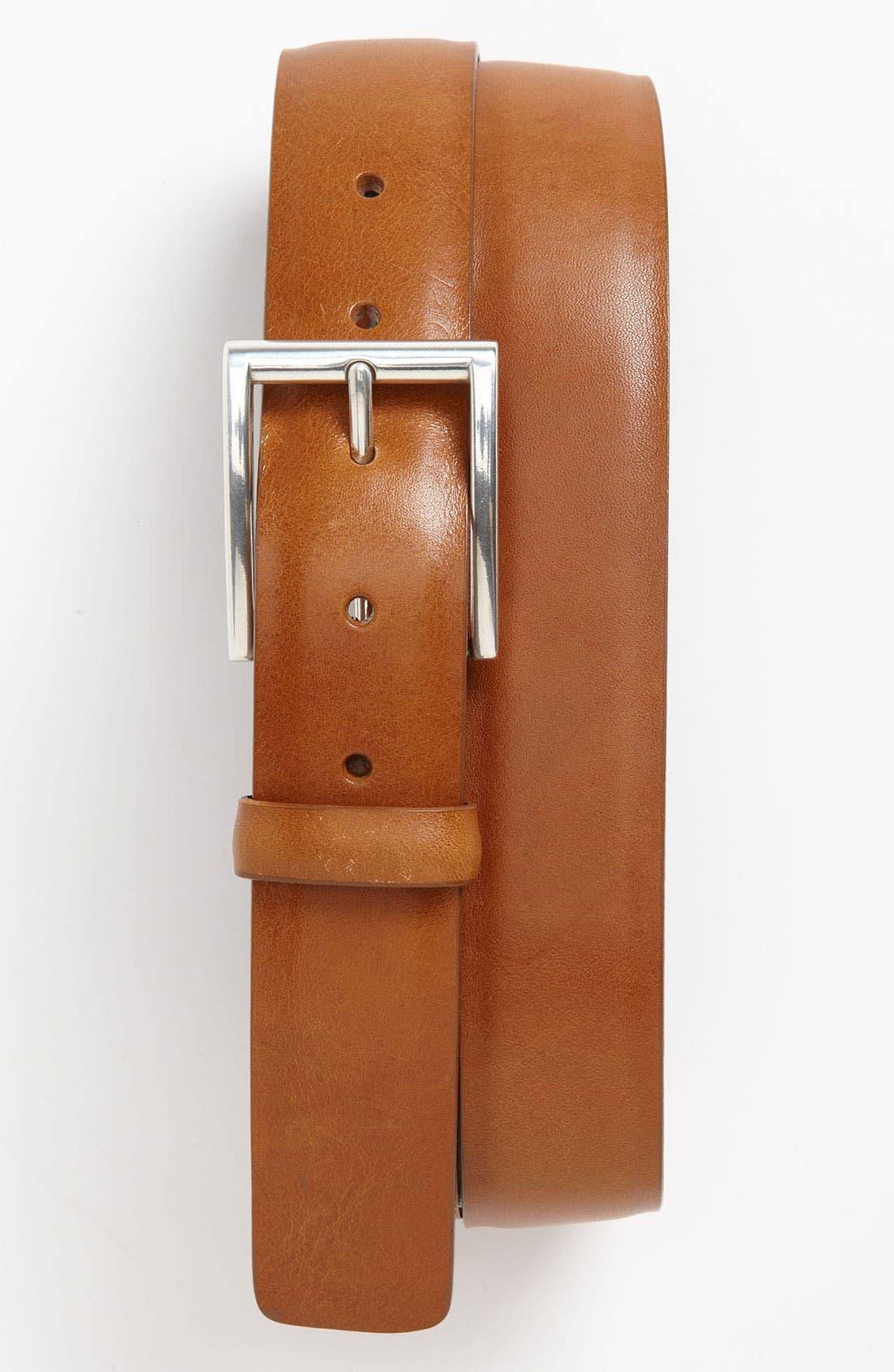 Main Image - Trafalgar 'Cicero' Calfskin Belt