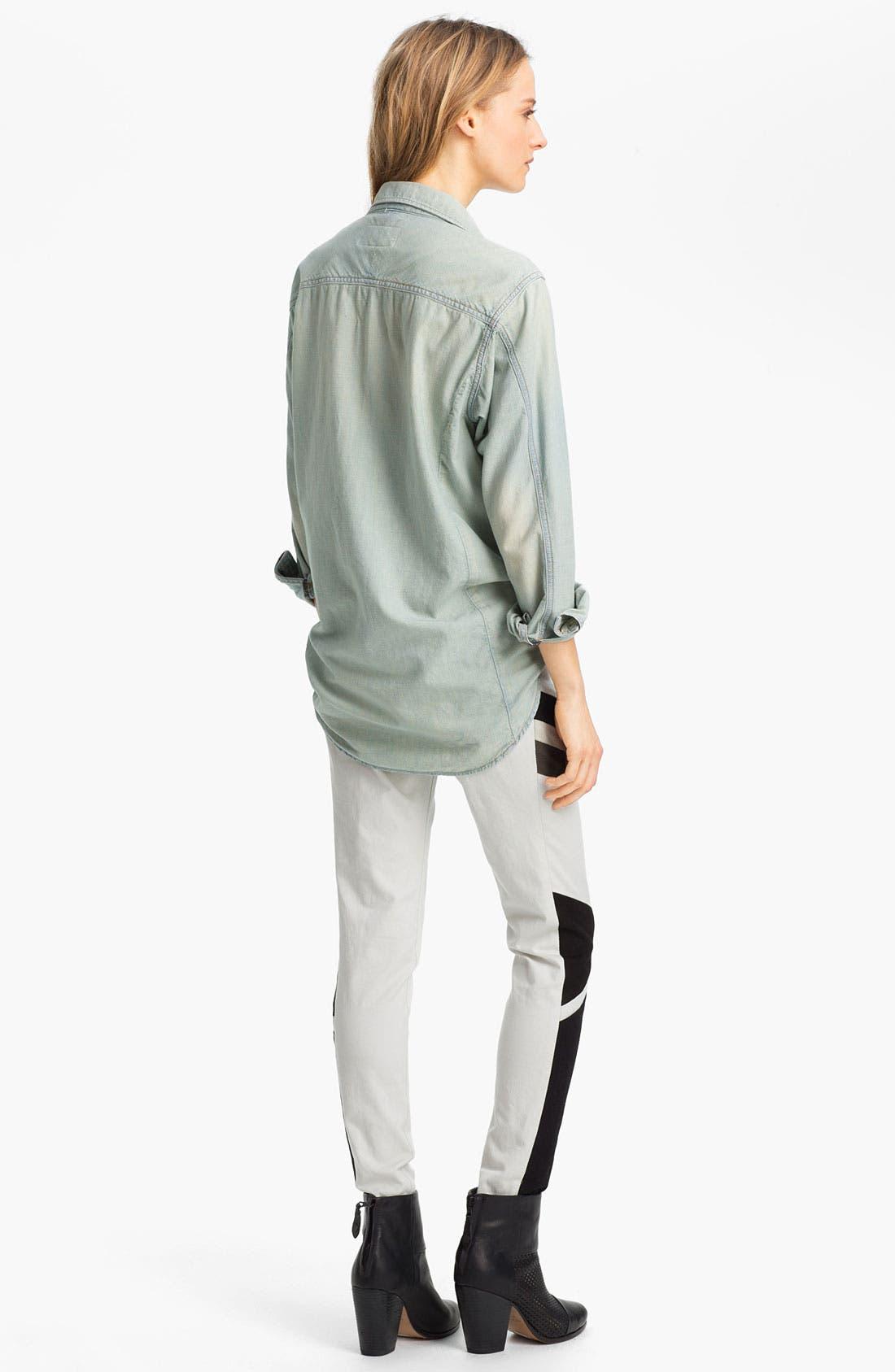 Alternate Image 4  - rag & bone/JEAN 'The Trail' Shirt