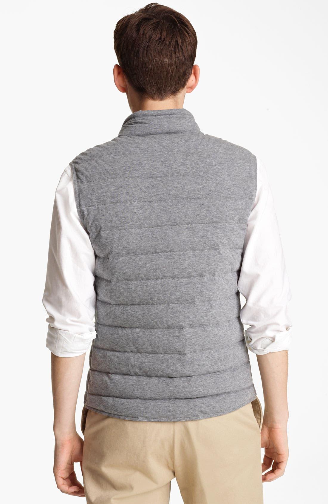 Alternate Image 2  - Moncler 'Gerald' Quilted Cotton Vest