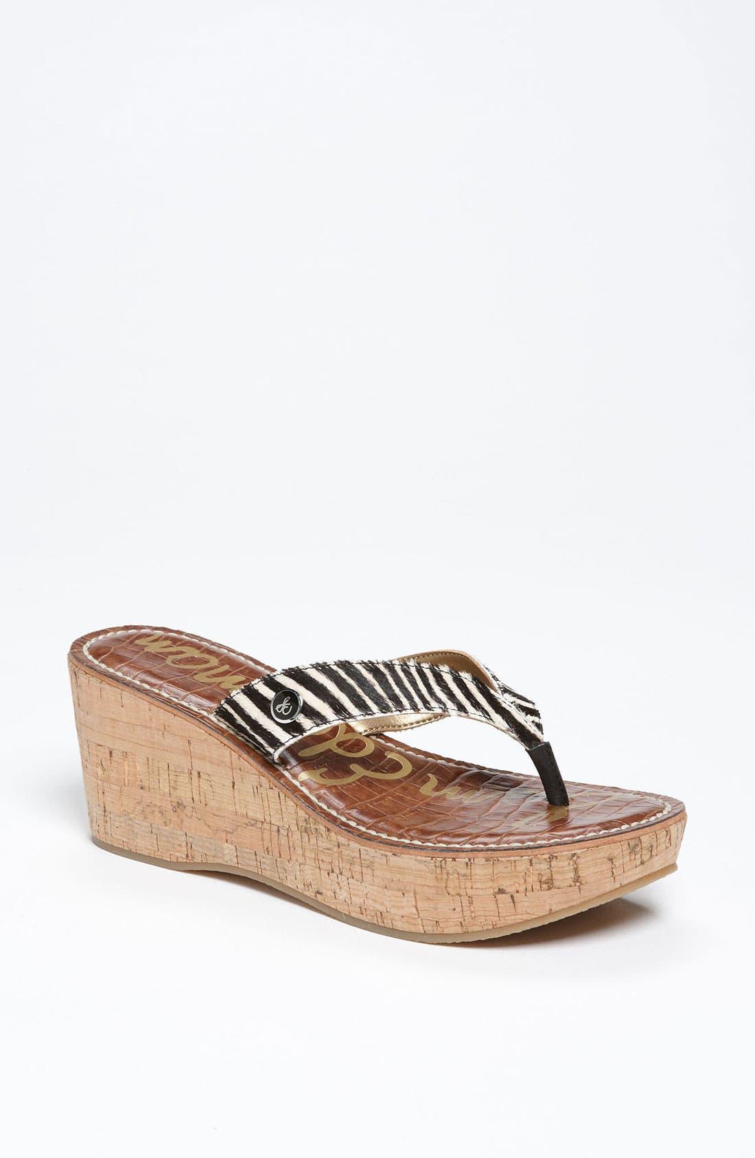 Alternate Image 1 Selected - Sam Edelman 'Romy' Wedge Sandal