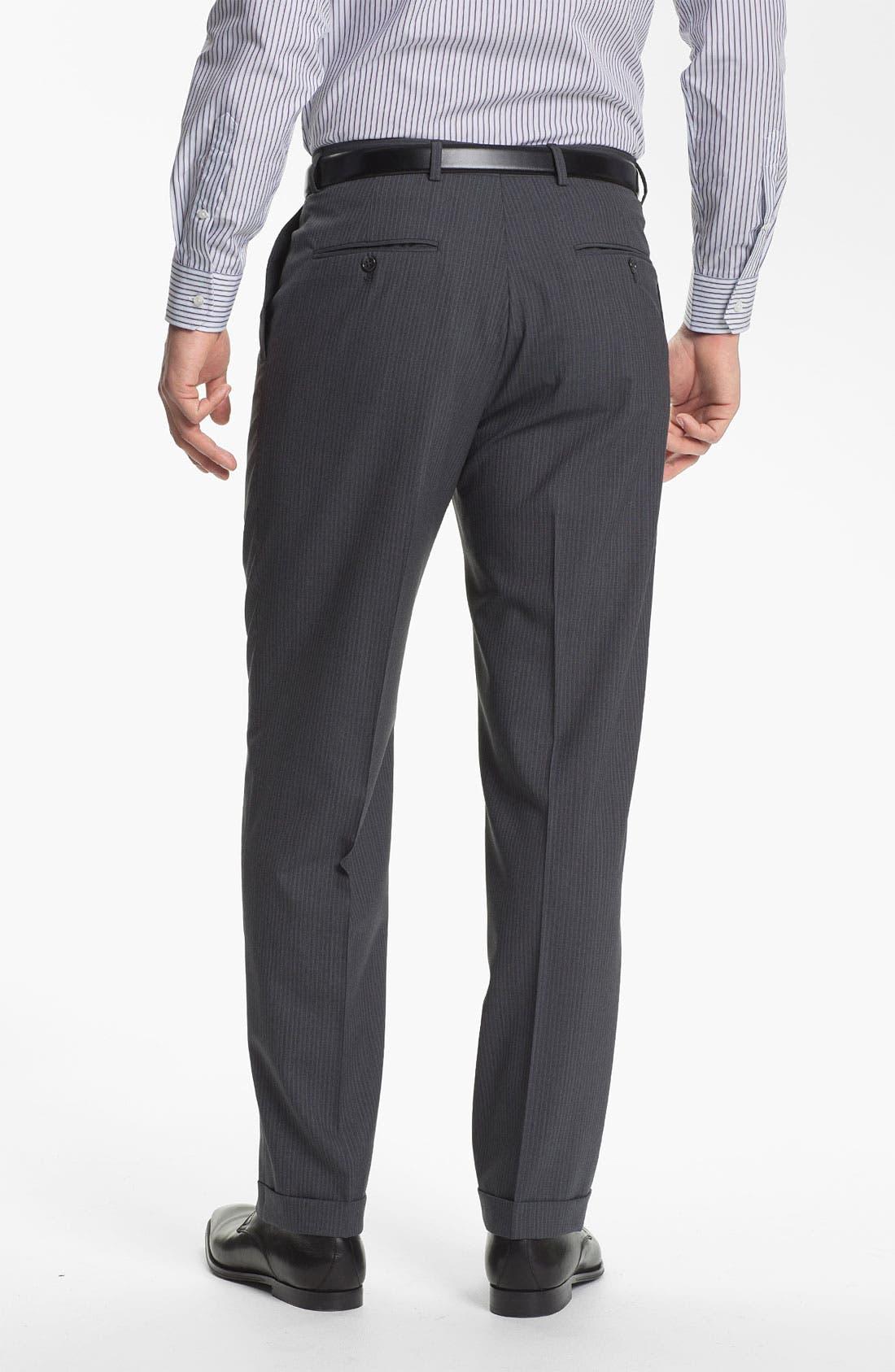Alternate Image 5  - Hart Schaffner Marx Stripe Suit