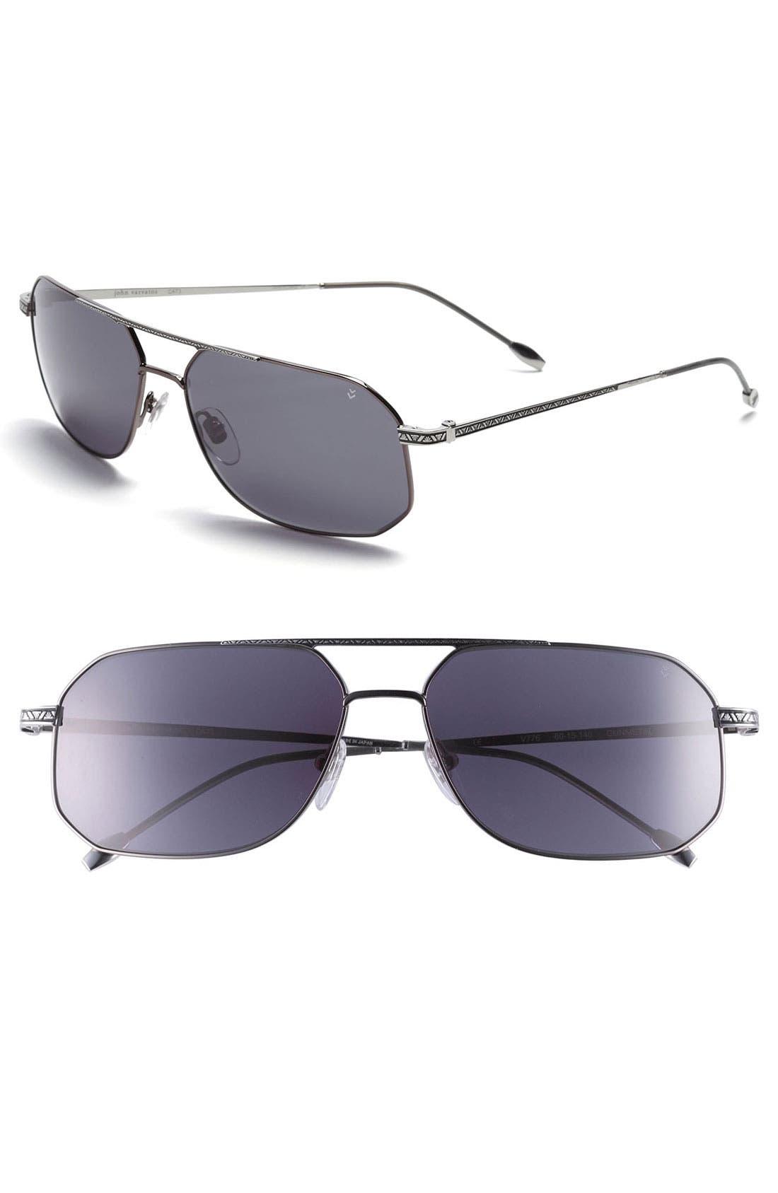 Main Image - John Varvatos Collection 60mm Sunglasses