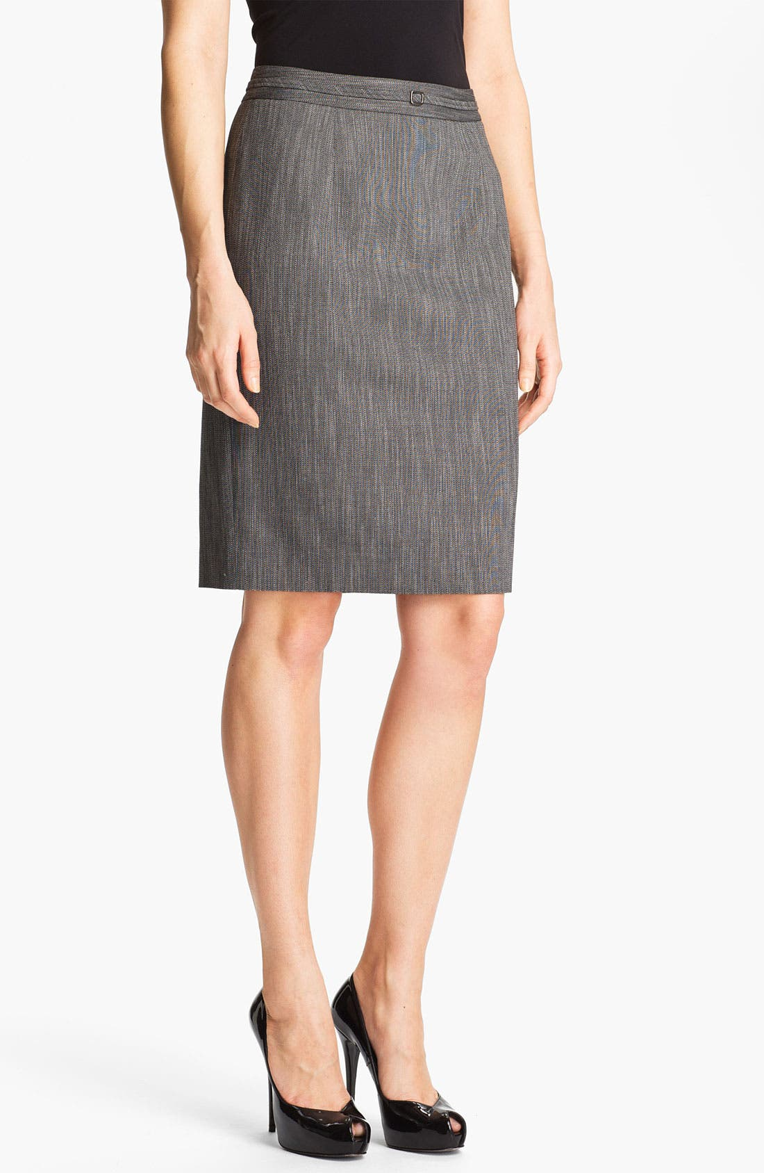 Alternate Image 1 Selected - Classiques Entier® 'Speckled Weave' Skirt