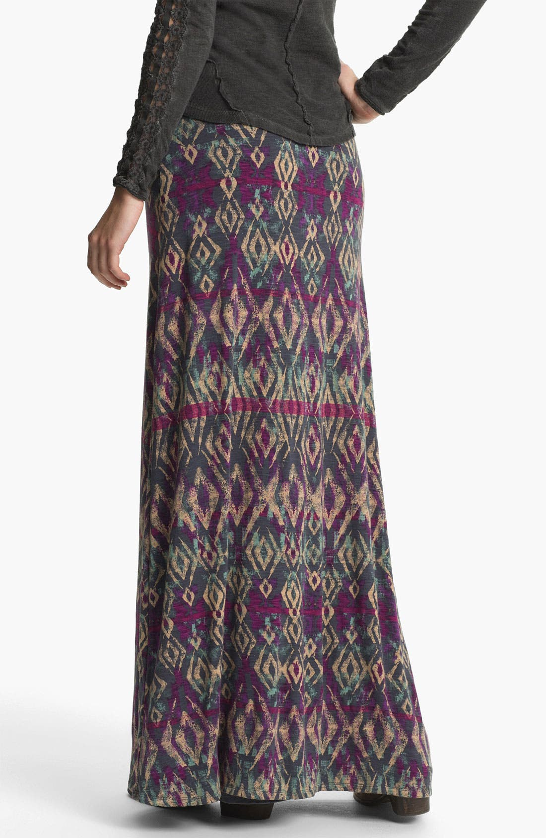 Alternate Image 2  - Free People 'Sahaying' Print Maxi Skirt