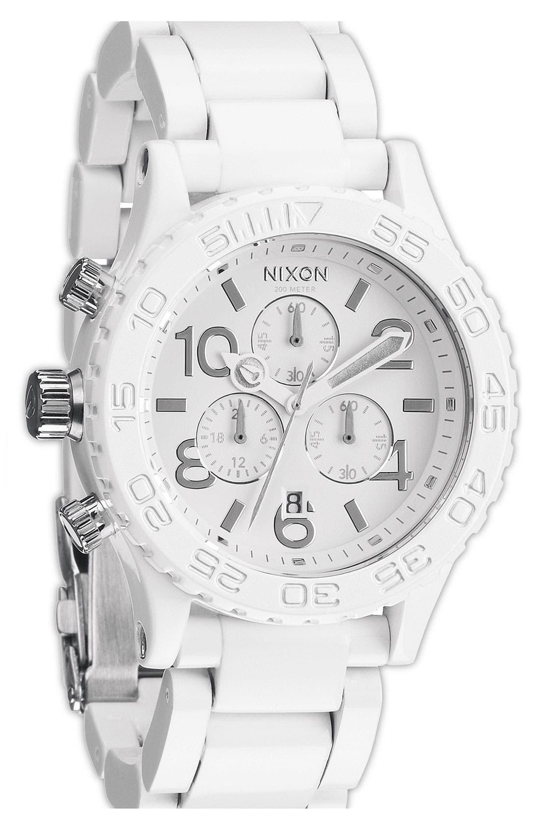 Alternate Image 1 Selected - Nixon 'The 42-20 Chrono Chromacoat' Watch