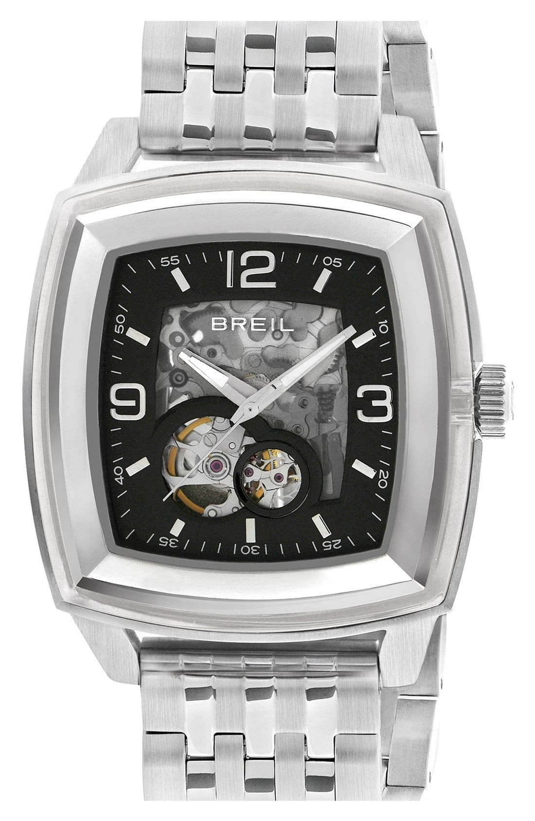Alternate Image 1 Selected - Breil 'Orchestra' Square Automatic Watch