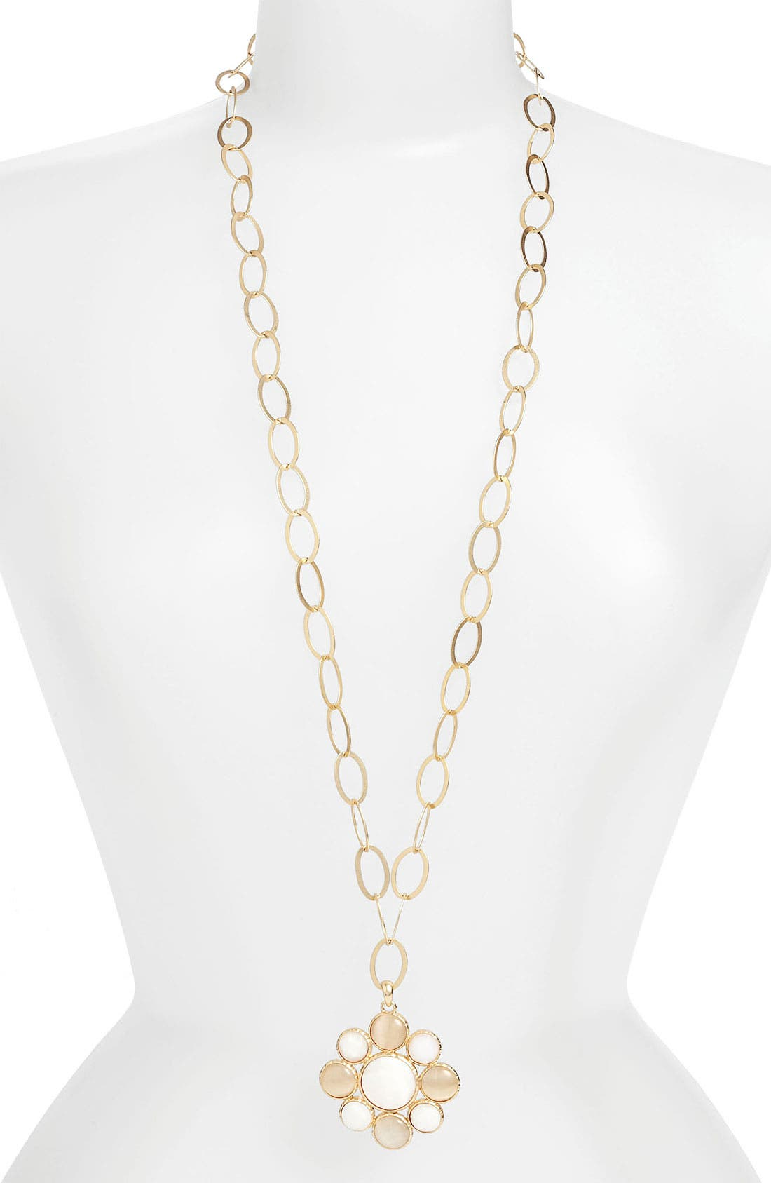 Alternate Image 2  - Nordstrom 'Santorini' Long Pendant Necklace