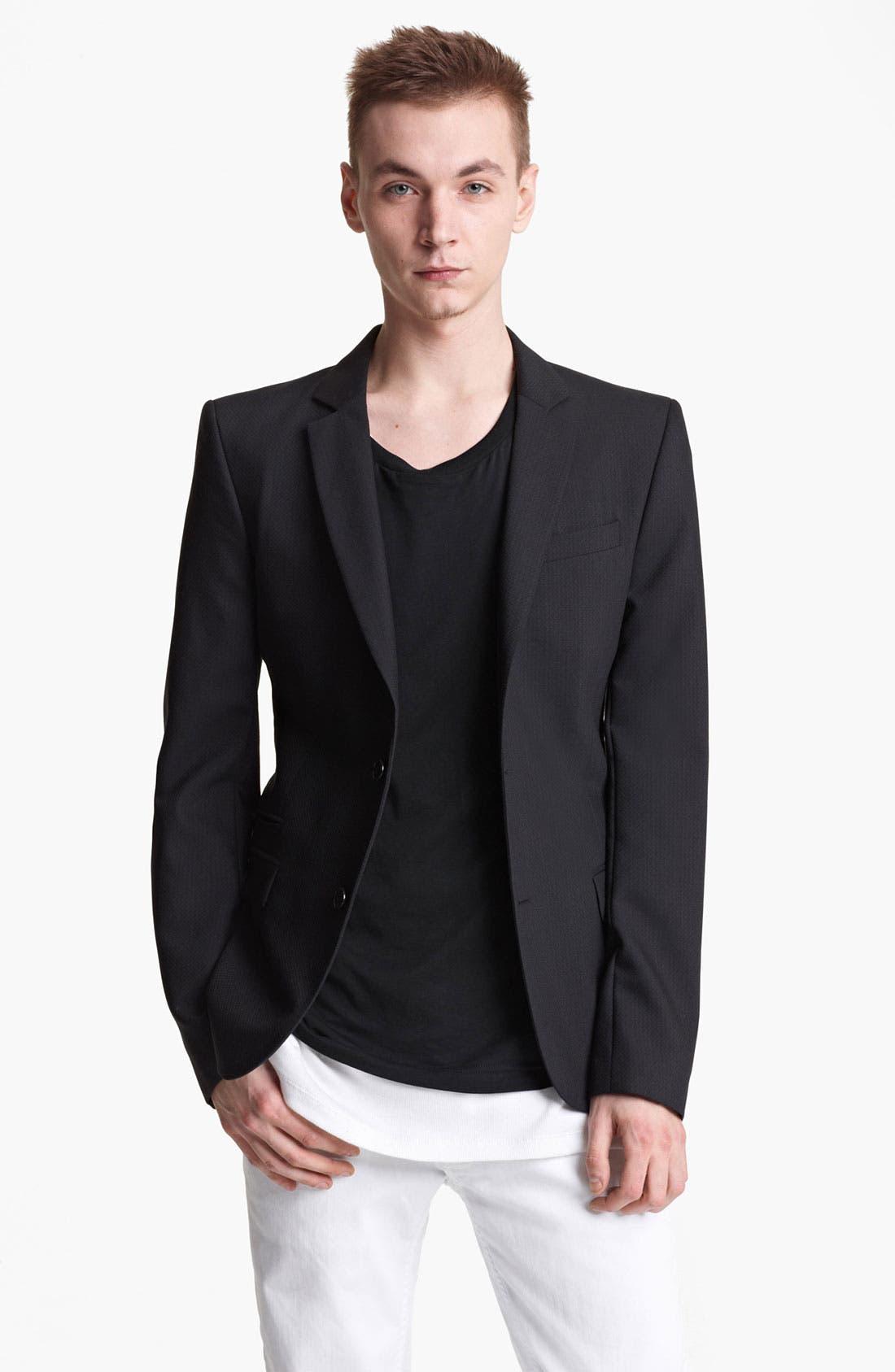 Alternate Image 1 Selected - BLK DNM Slim Fit Wool Blazer