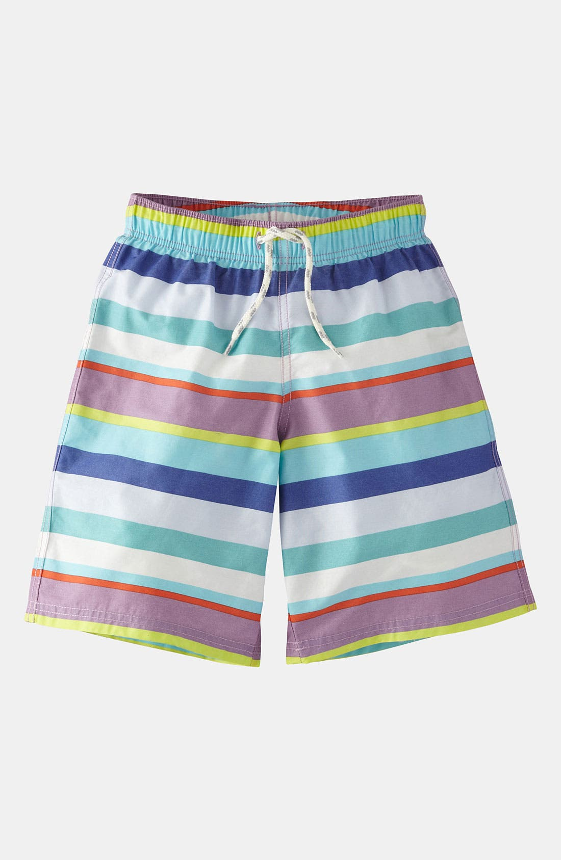 Main Image - Mini Boden Swim Shorts (Toddler, Little Boys & Big Boys)