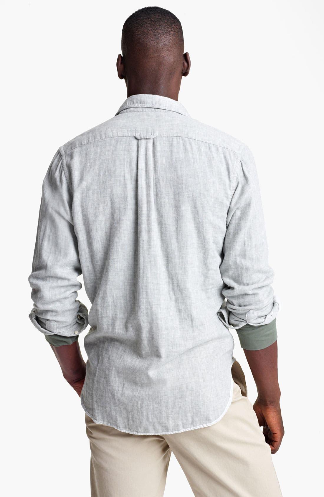 Alternate Image 2  - Grayers Trim Fit Sport Shirt