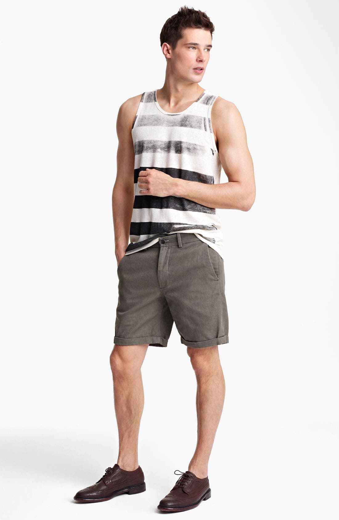 Alternate Image 4  - Rogan Roller Stripe Front Tank Top