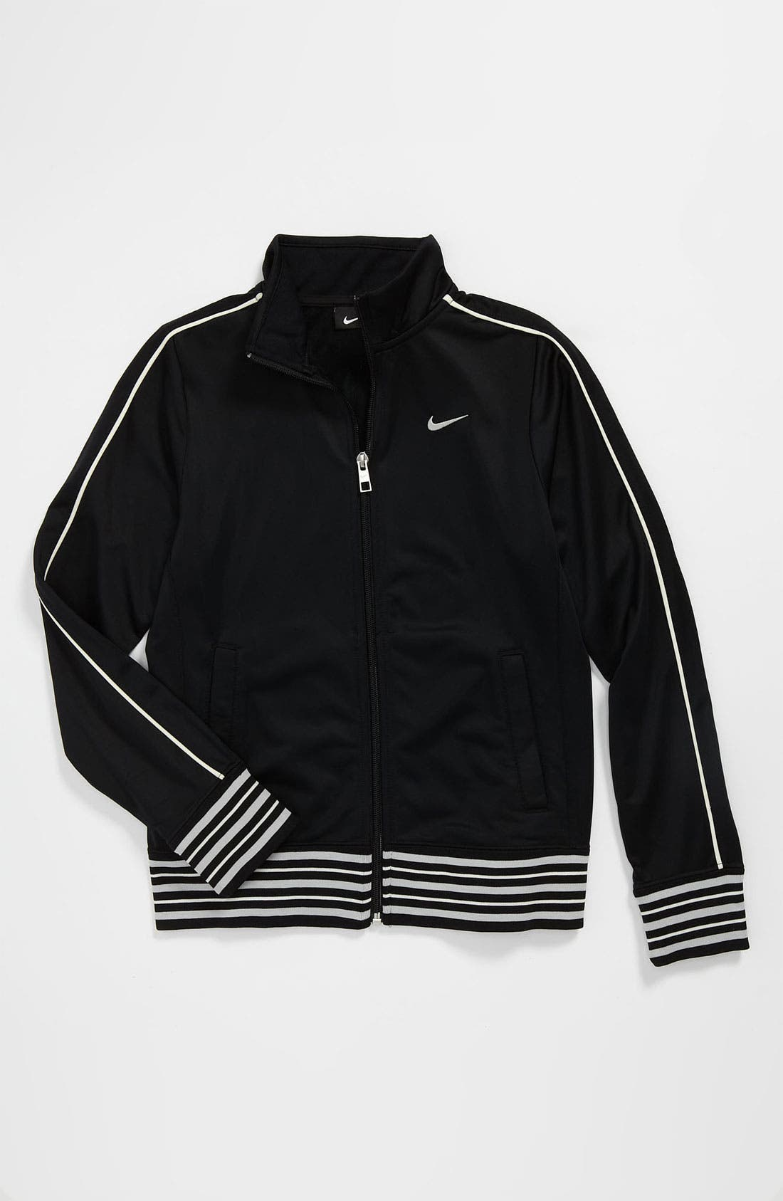 Alternate Image 1 Selected - Nike 'Heritage 855' Jacket (Big Girls)