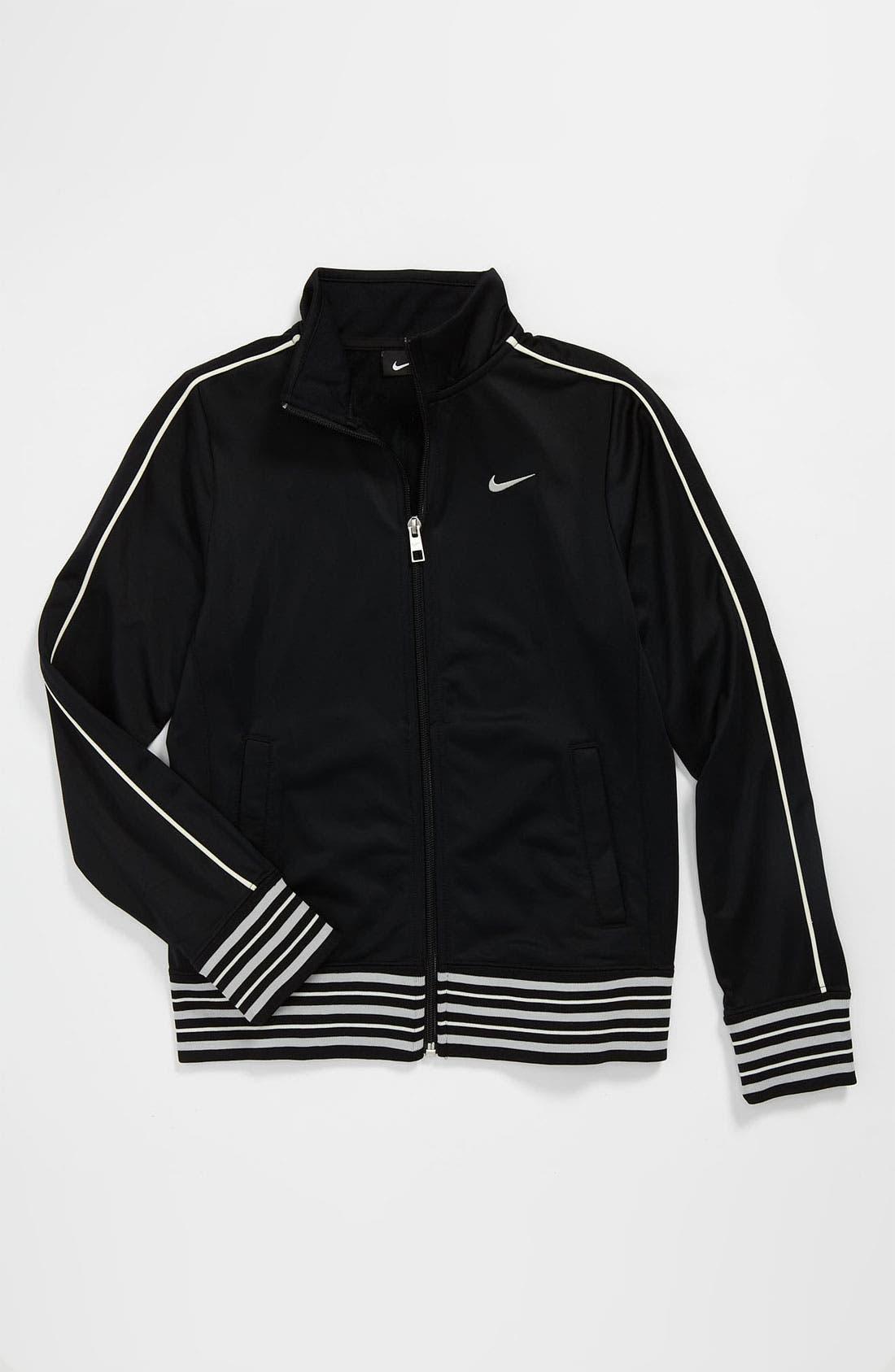 Main Image - Nike 'Heritage 855' Jacket (Big Girls)