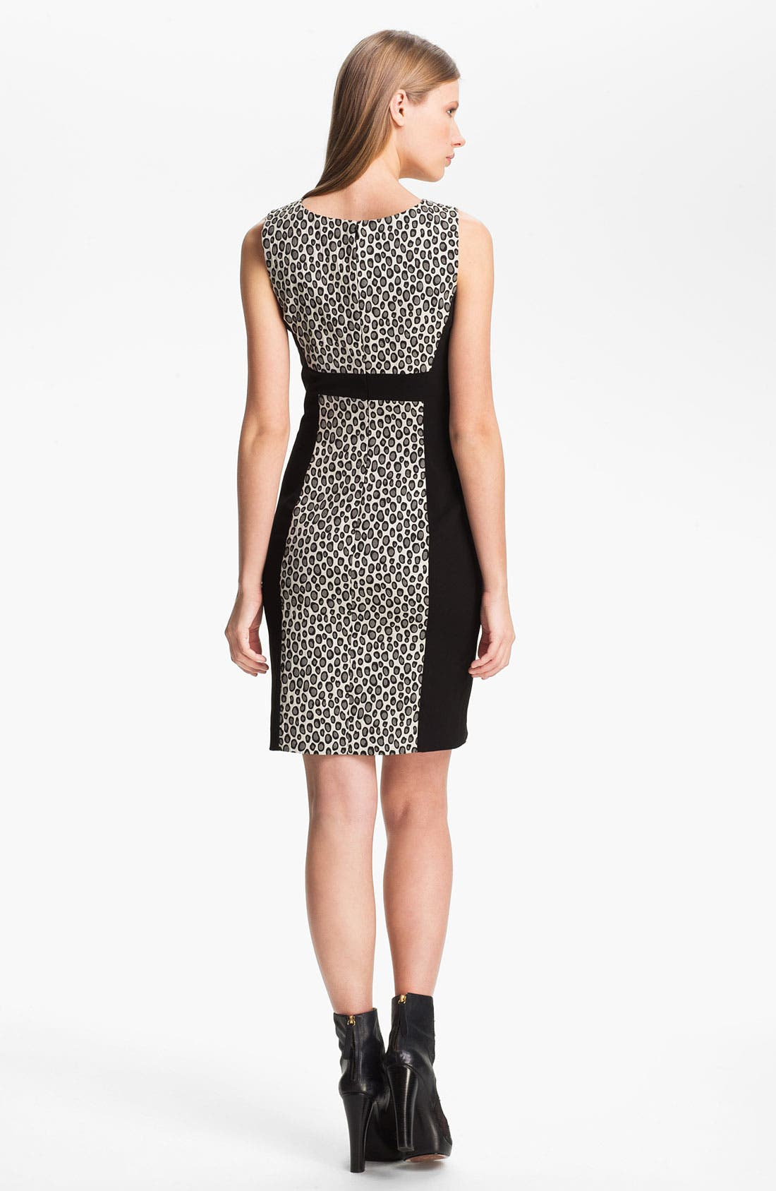 Alternate Image 2  - Rachel Zoe 'Ricky' Contrast Panel Sheath Dress