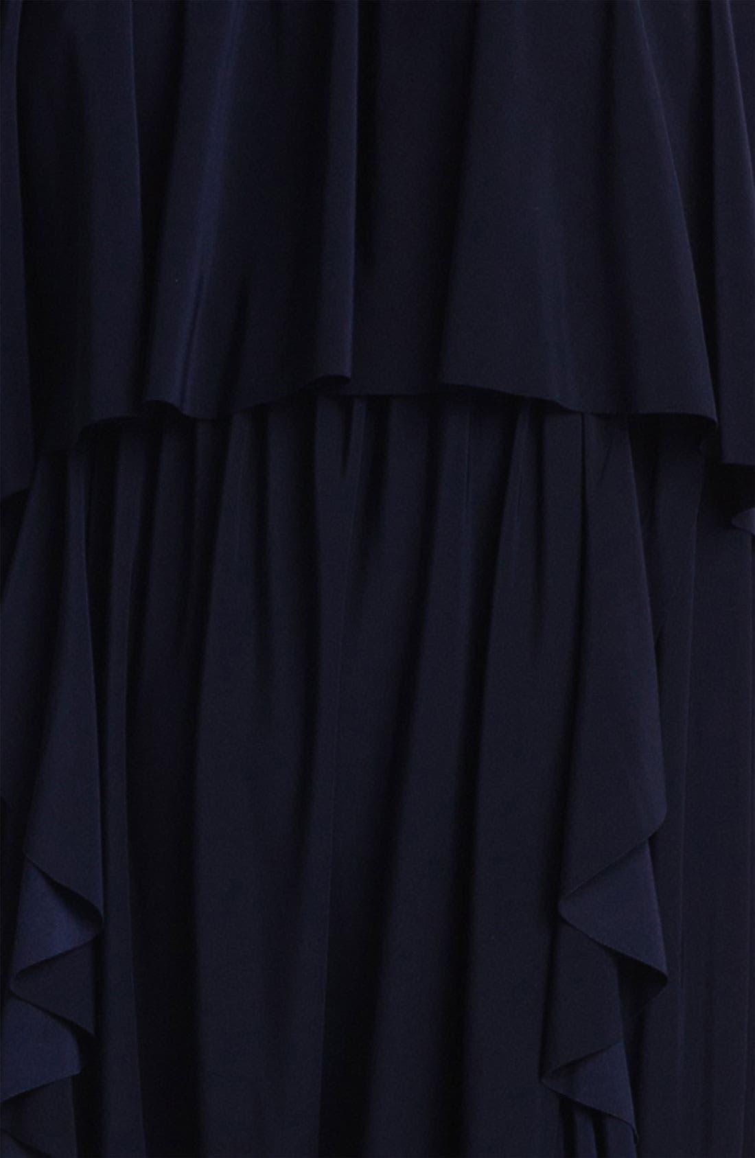 Alternate Image 3  - Tbags Los Angeles Ruffled Dress