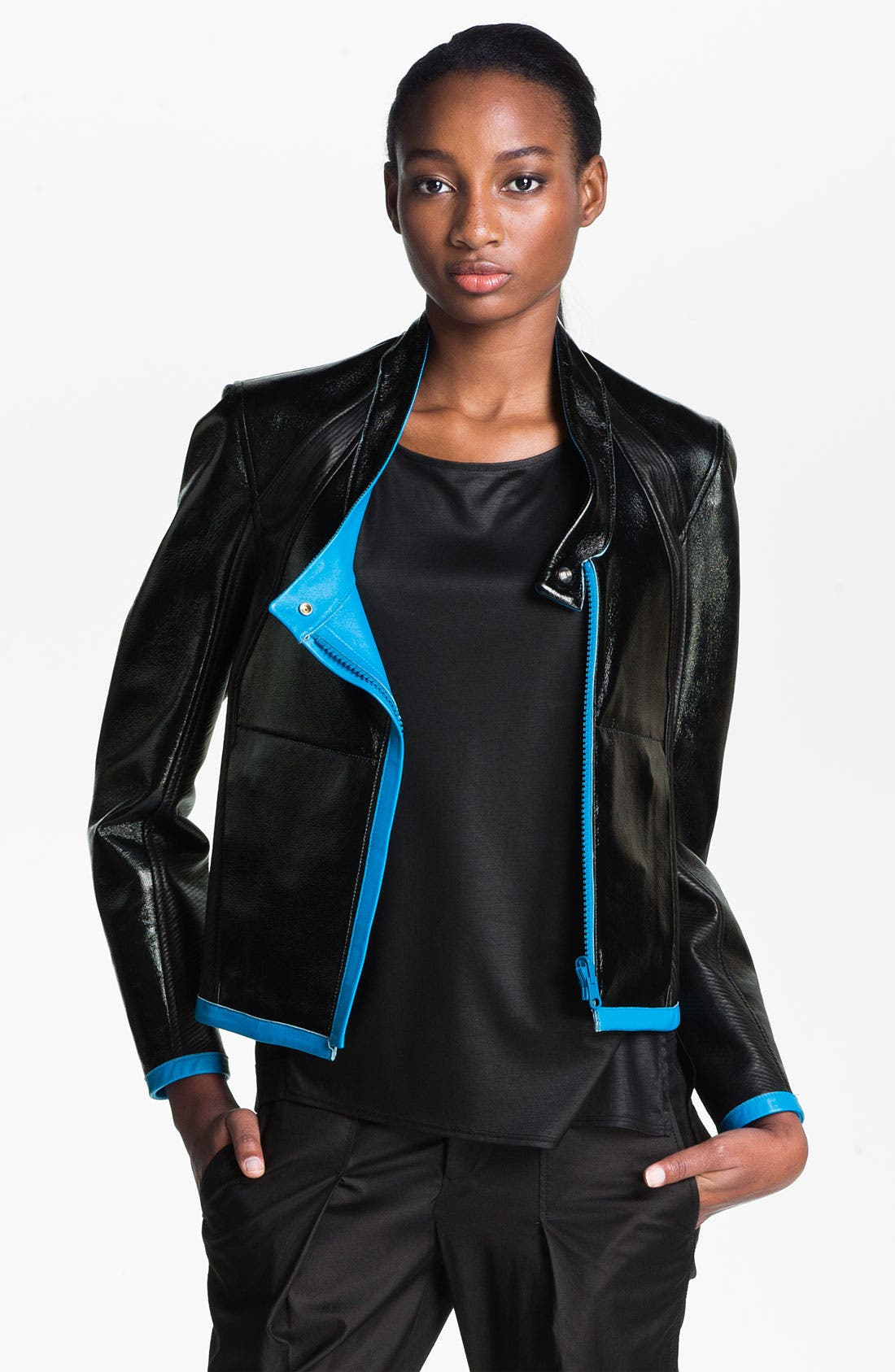 Alternate Image 6  - Helmut Lang Reversible Leather Jacket