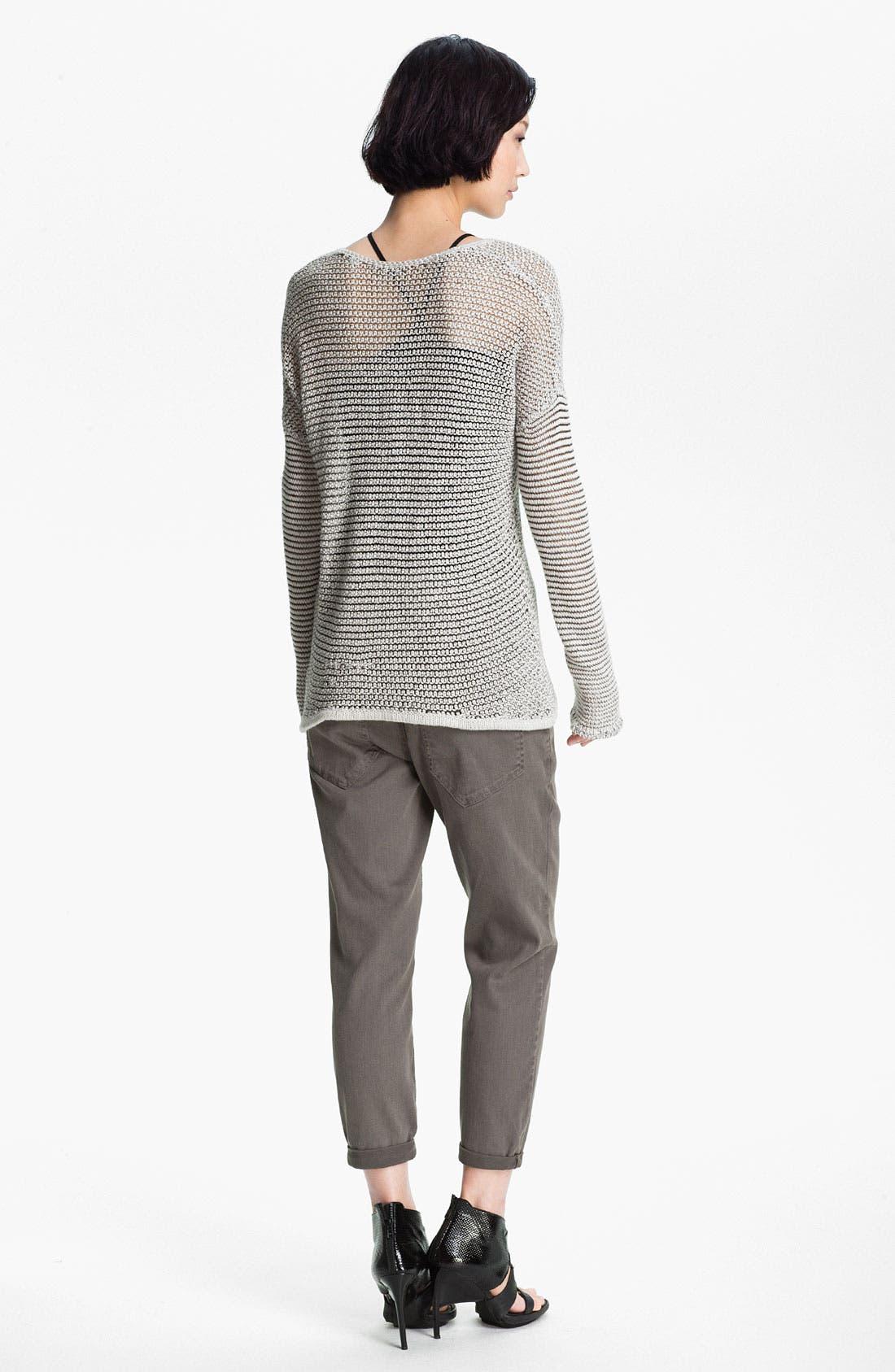 Alternate Image 4  - HELMUT Helmut Lang Open Knit Sweater
