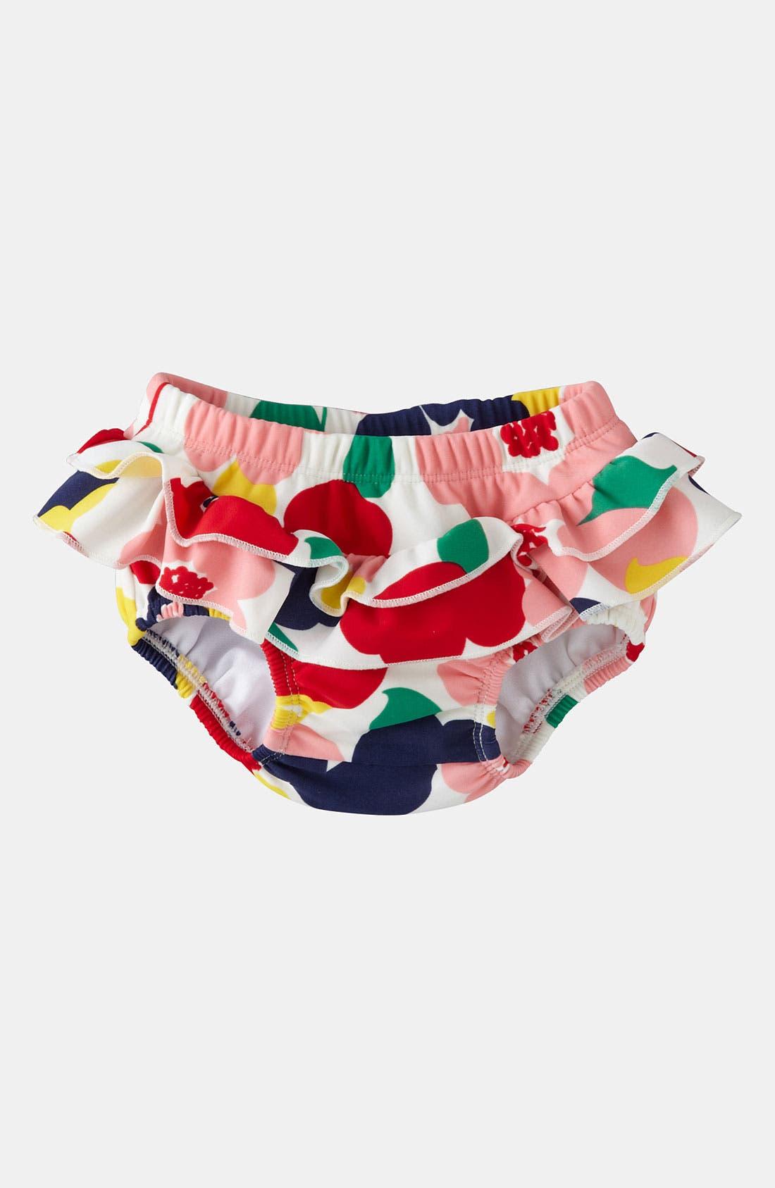 Main Image - Mini Boden Ruffle Swim Bloomers (Baby)
