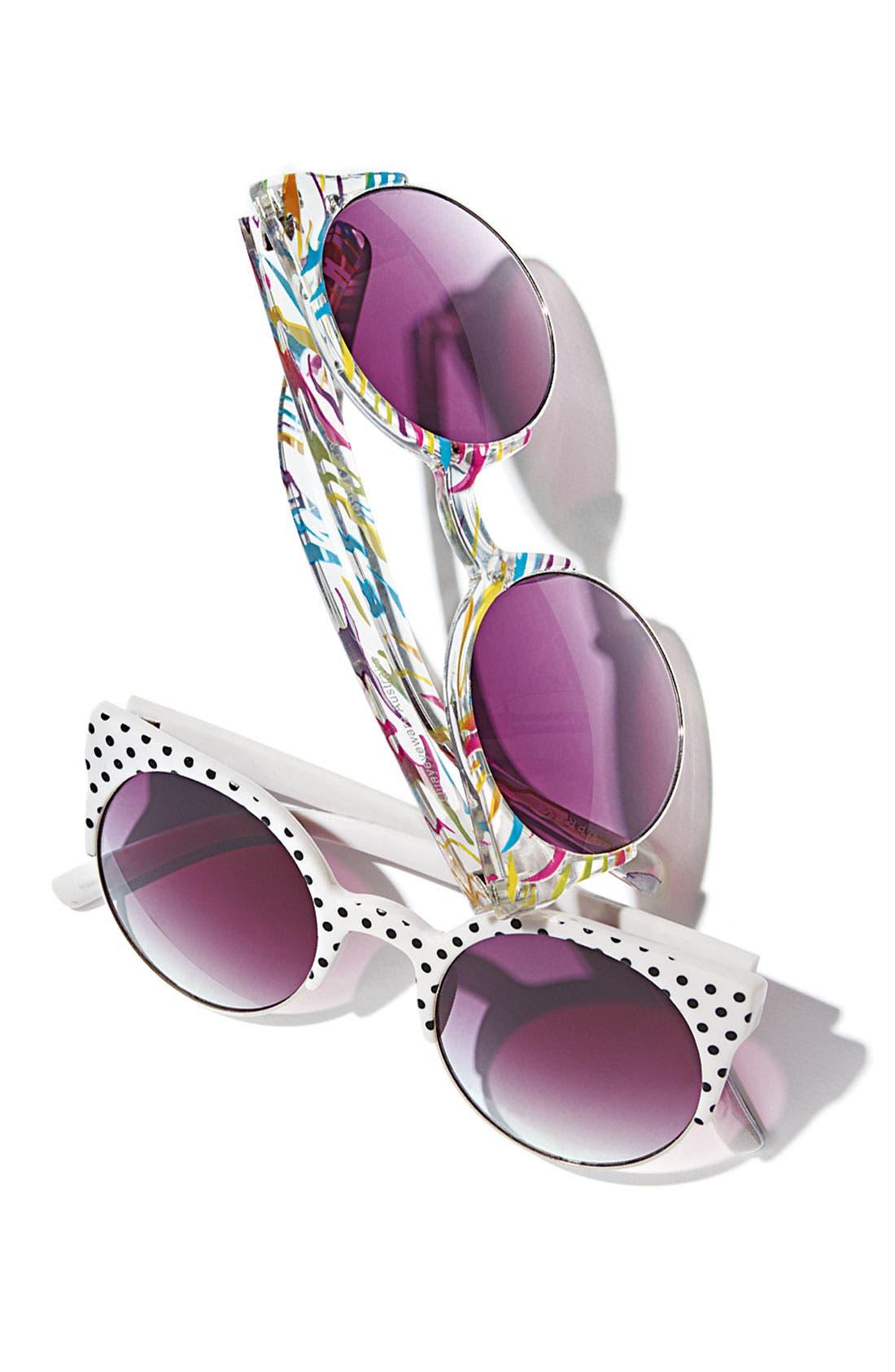 Alternate Image 4  - Quay Retro Sunglasses