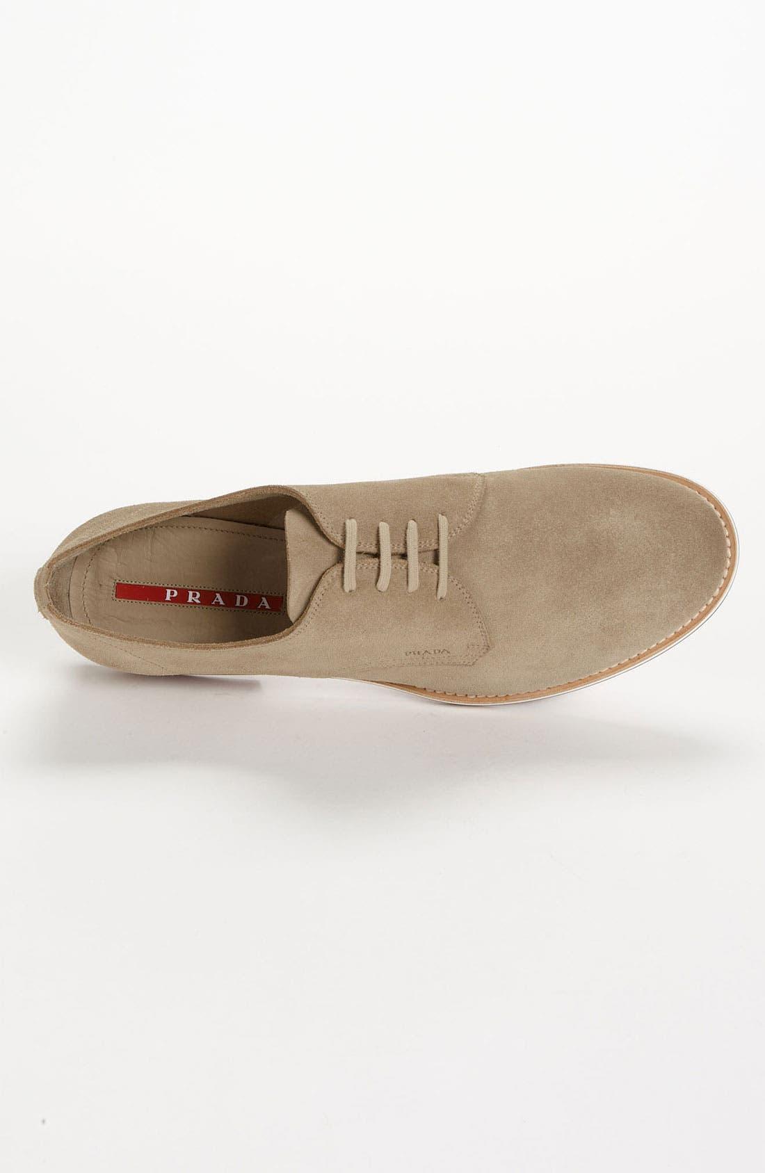 Alternate Image 3  - Prada Suede Buck Shoe