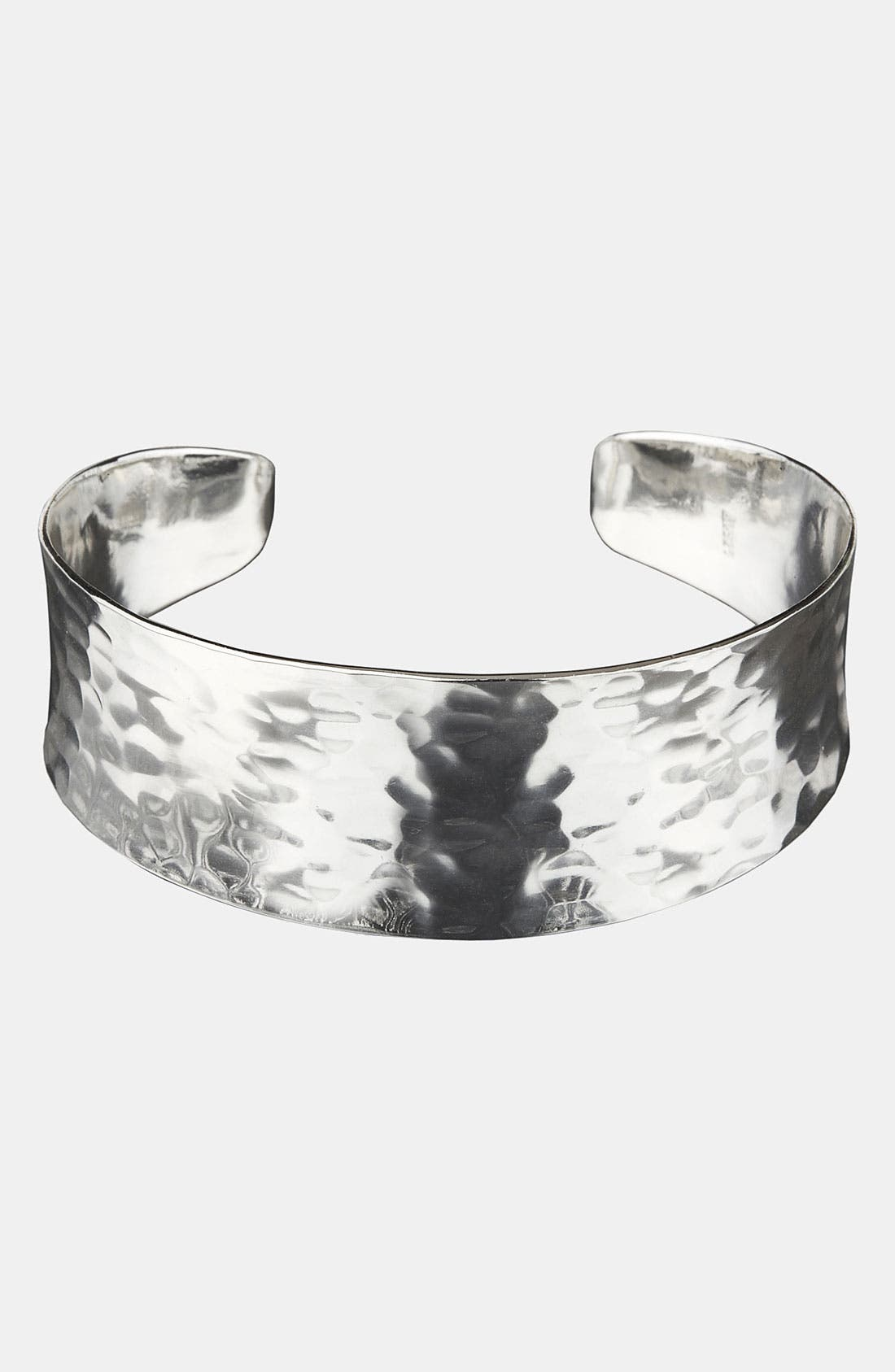 Main Image - Argento Vivo Hammered Cuff (Nordstrom Exclusive)