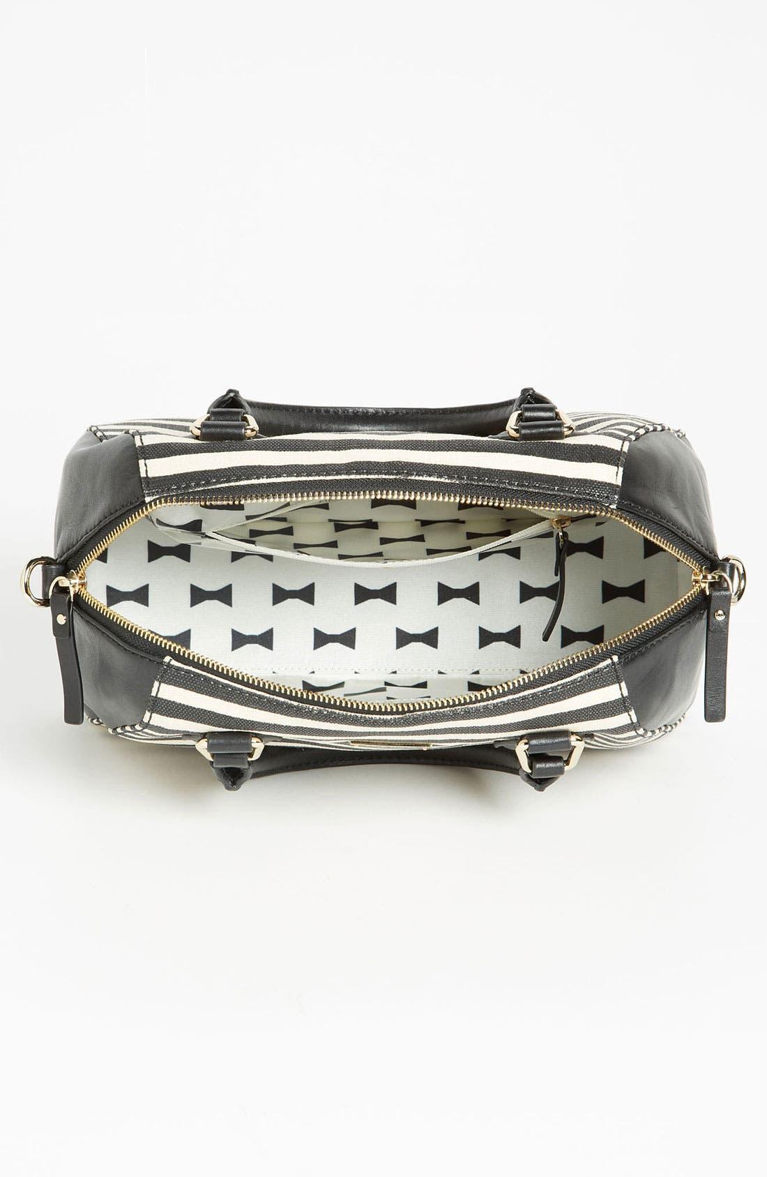 Alternate Image 3  - kate spade new york 'catherine street - pippa' stripe satchel
