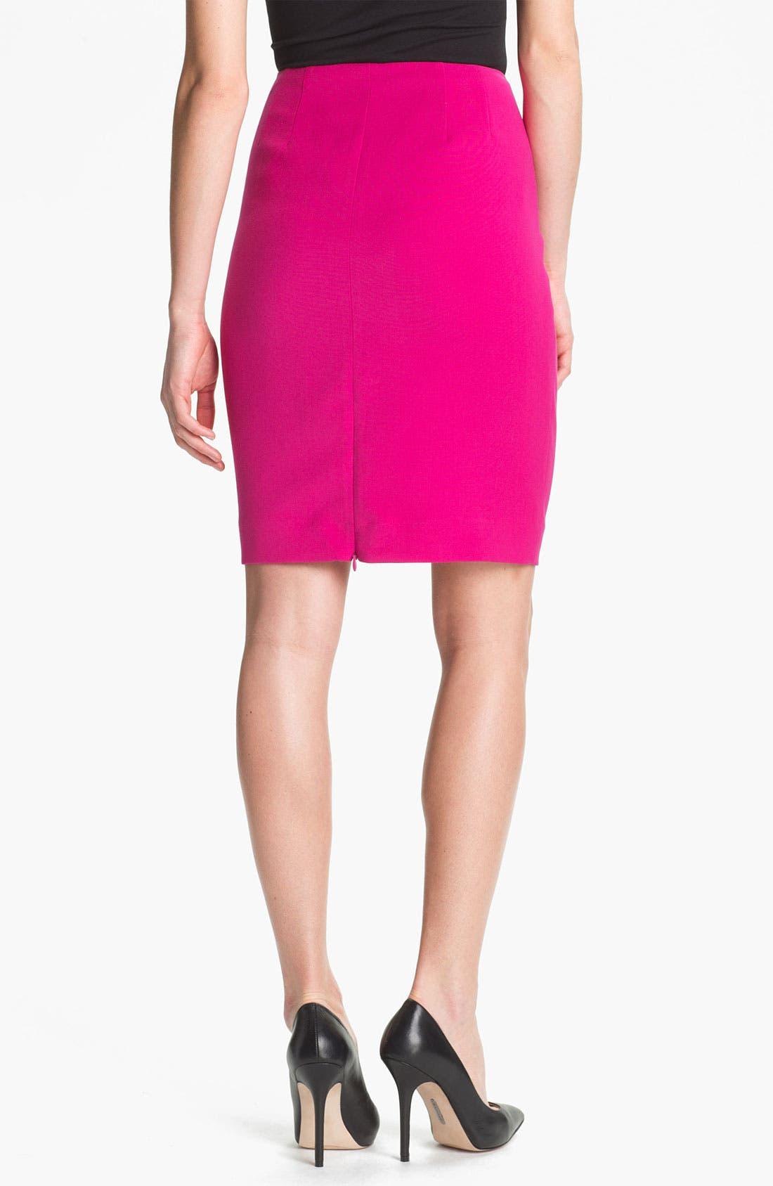 Alternate Image 2  - Anne Klein Slim Skirt