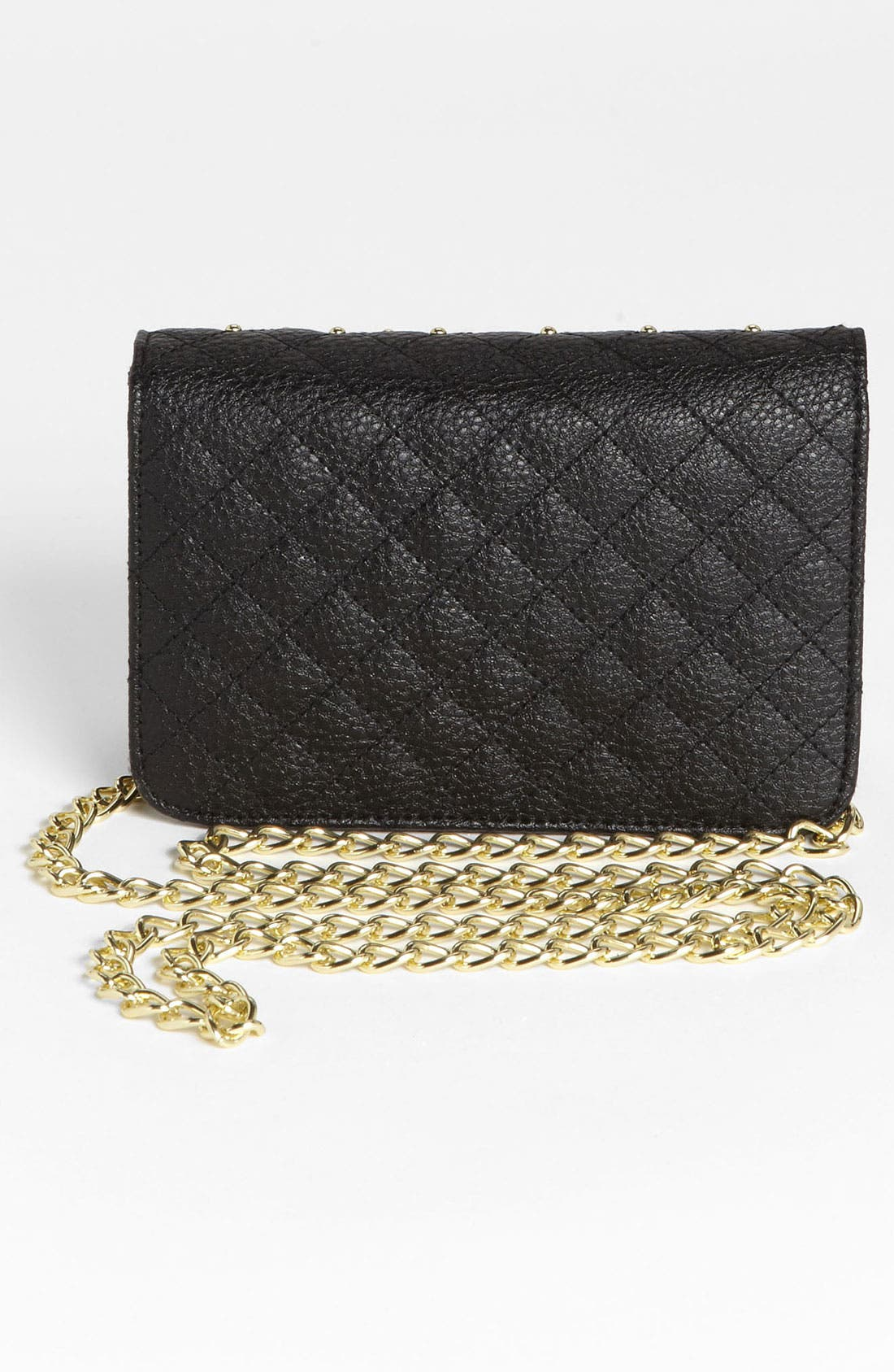 Alternate Image 4  - Lulu Stud Quilted Crossbody Bag