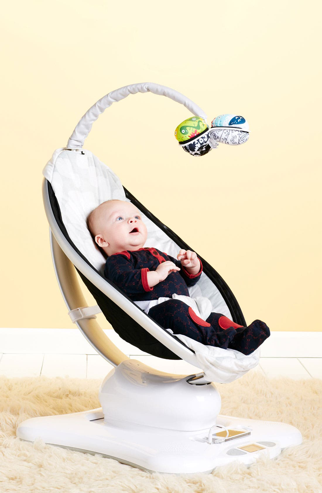 Alternate Image 3  - 4moms 'Classic mamaRoo' Bouncer Seat (Infant)