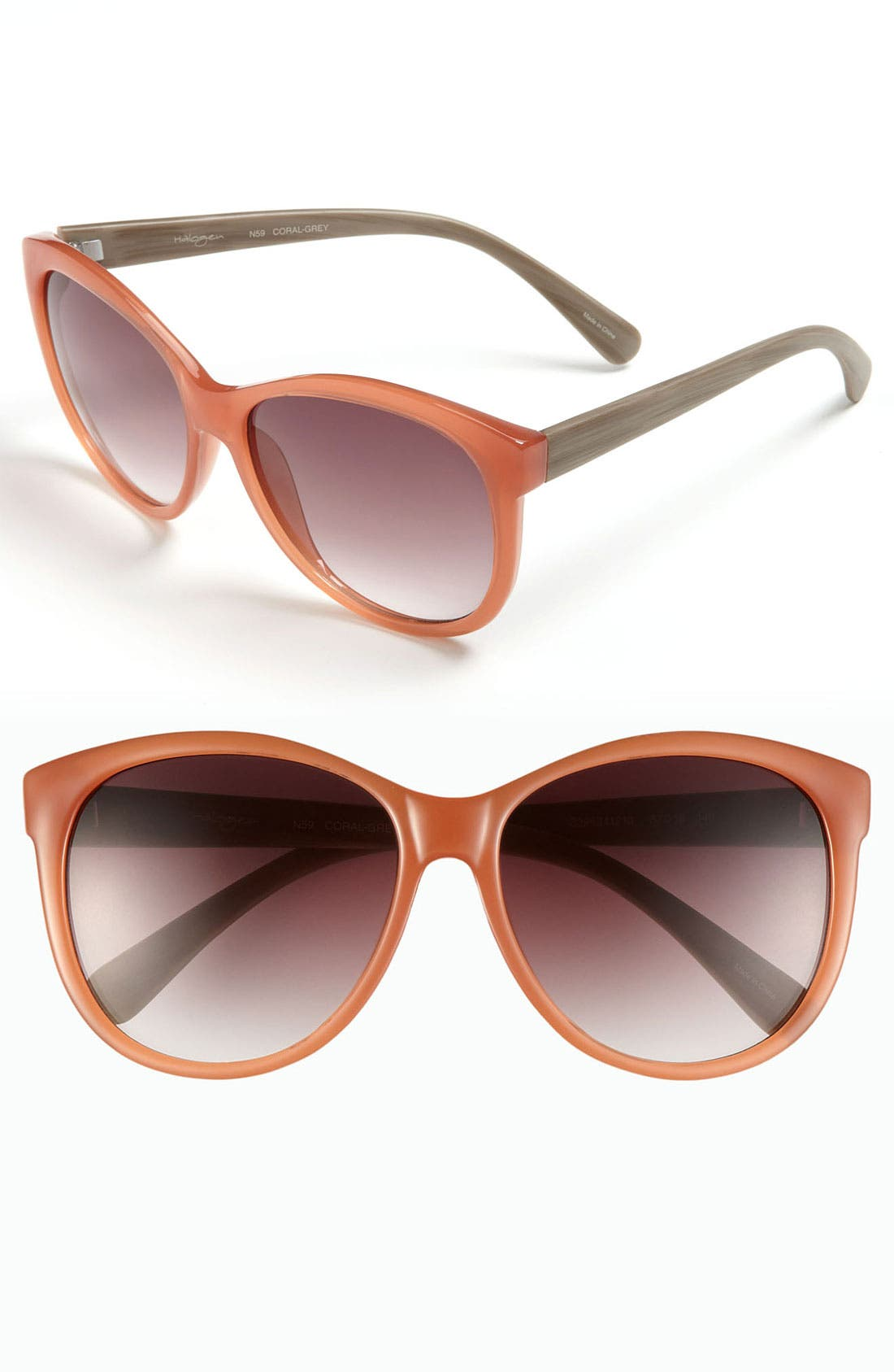 Alternate Image 1 Selected - Halogen® 57mm Retro Sunglasses