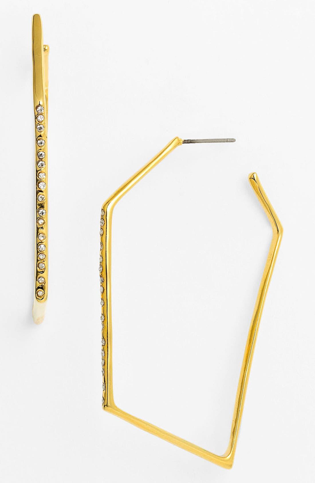 Alternate Image 1 Selected - Alexis Bittar 'Miss Havisham - New Wave' Hoop Earrings