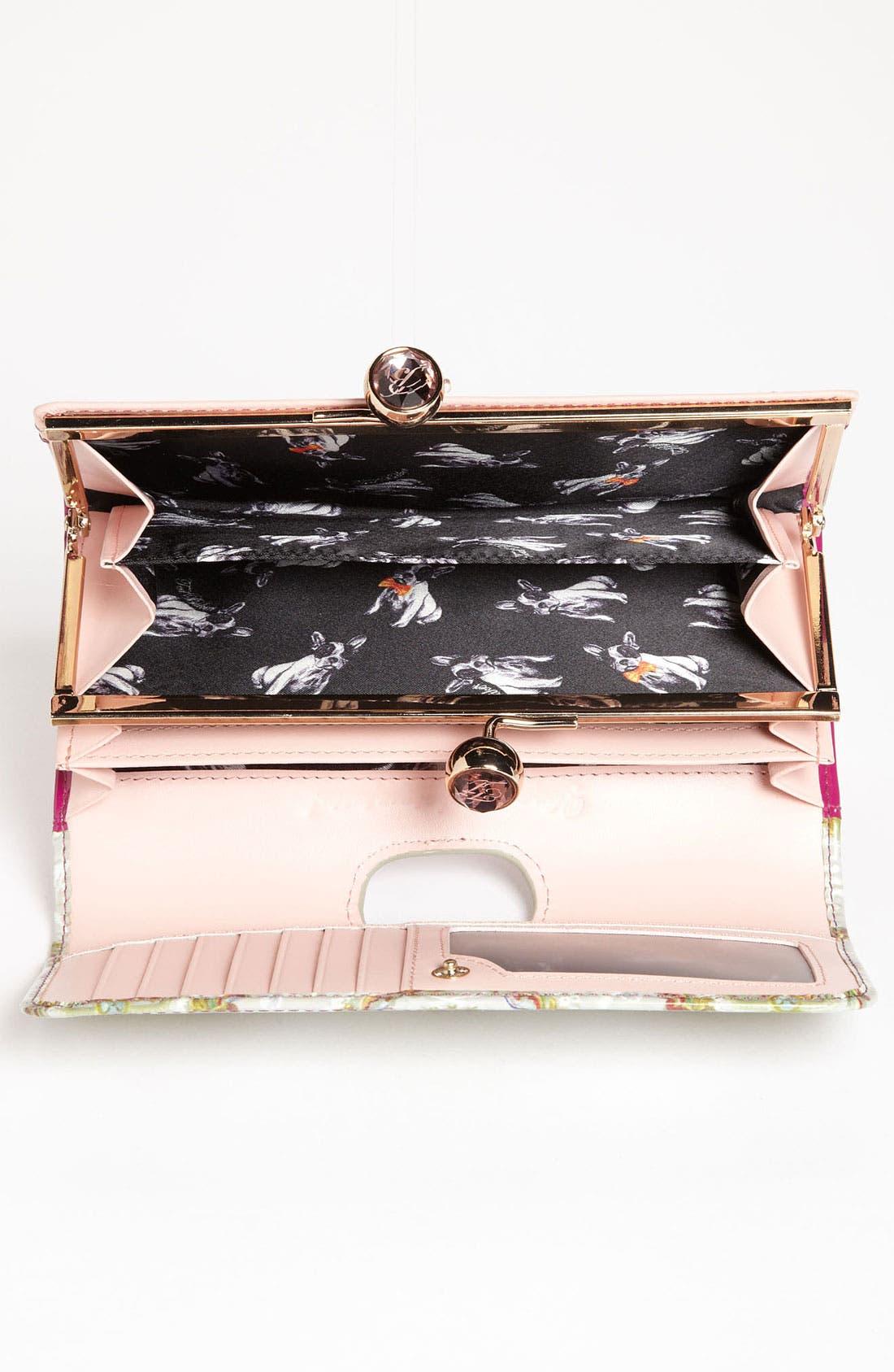 Alternate Image 3  - Ted Baker London 'Baroque Deco Crystal Bobble' Matinee Wallet