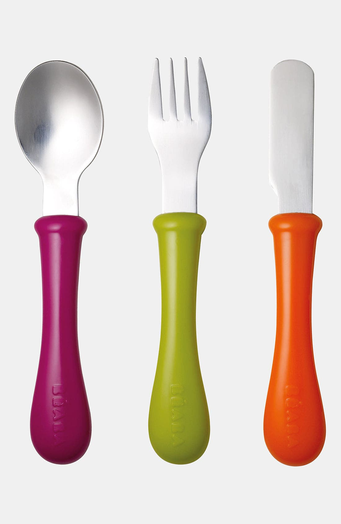 Alternate Image 1 Selected - Béaba Stainless Steel Cutlery