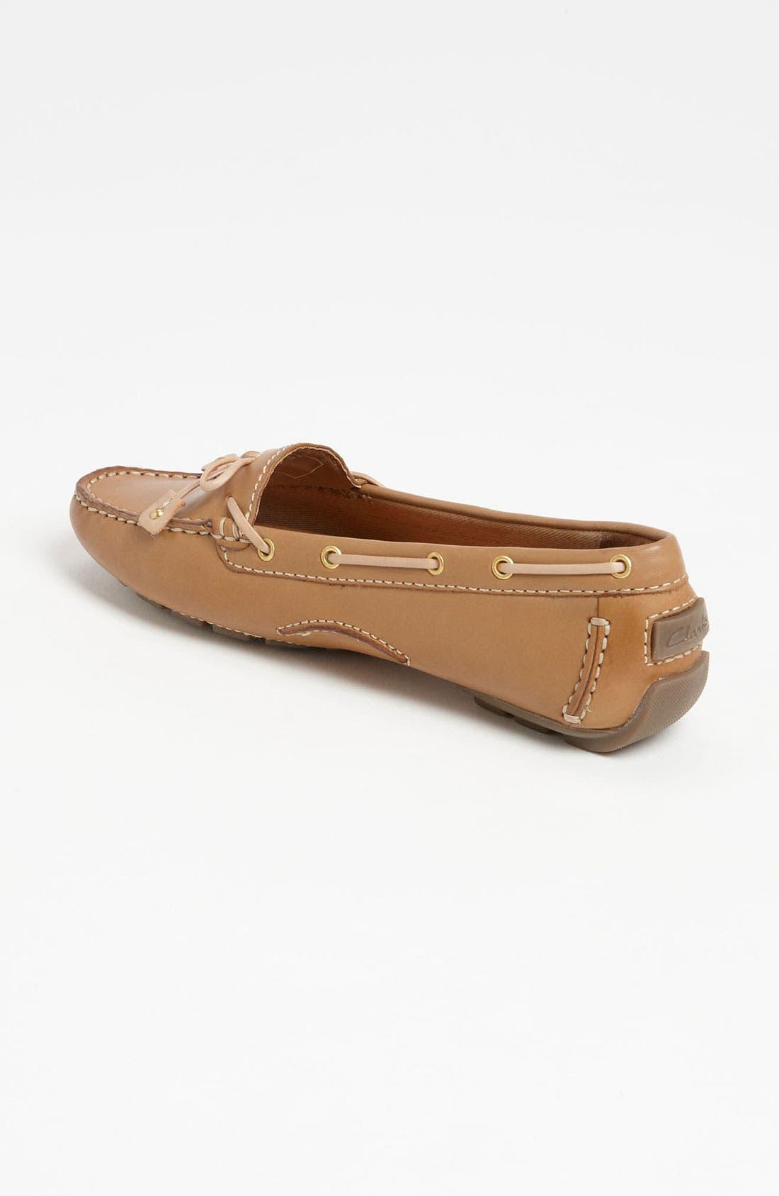 Alternate Image 2  - Clarks® Artisan Collection 'Dunbar Racer' Loafer (Online Only)