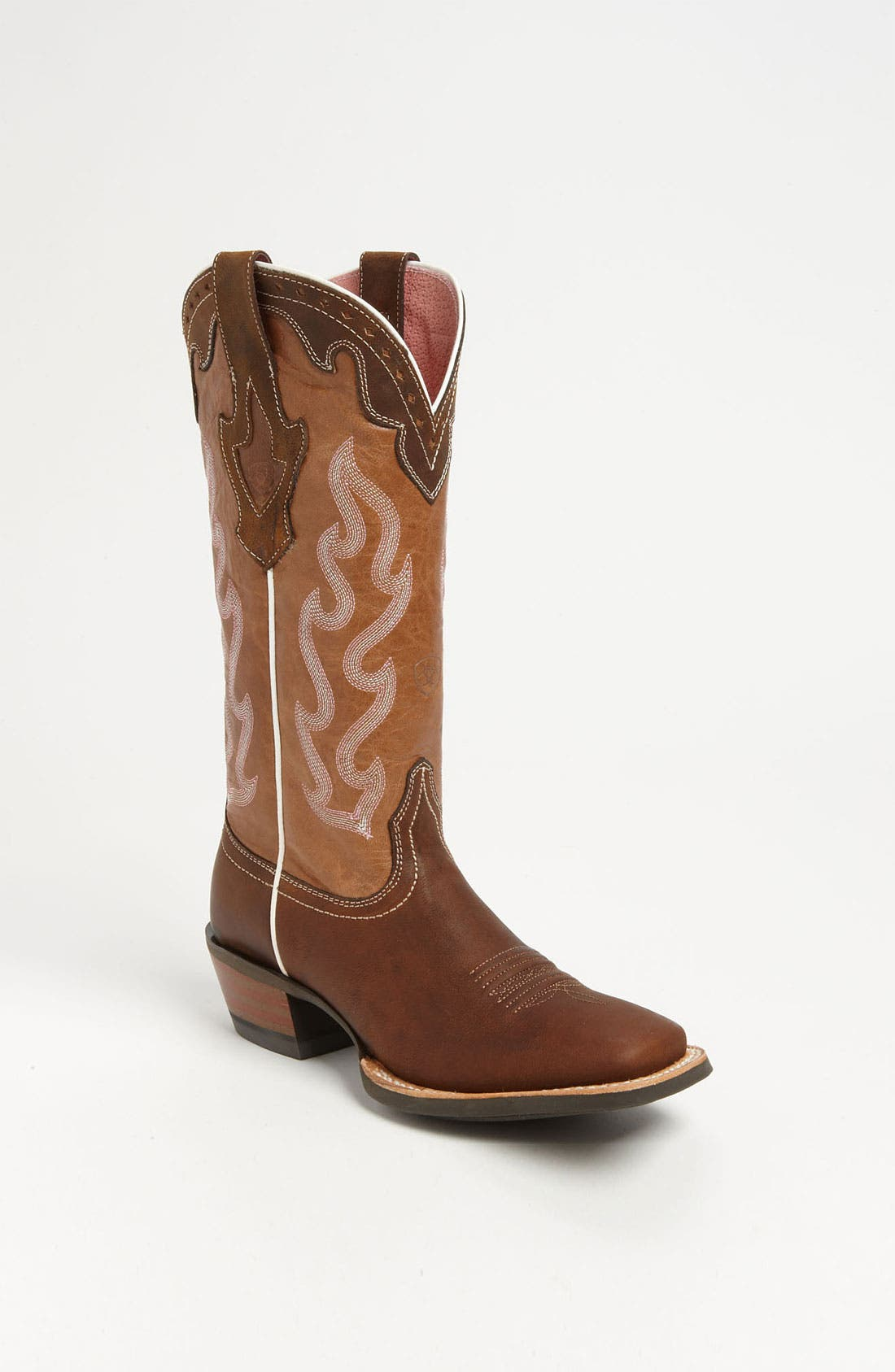 'Crossfire Caliente' Boot,                             Main thumbnail 1, color,                             Weathered Brown