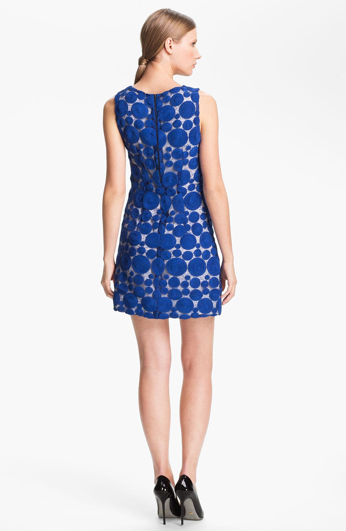 Alternate Image 2  - Alice + Olivia Lace Shift Dress