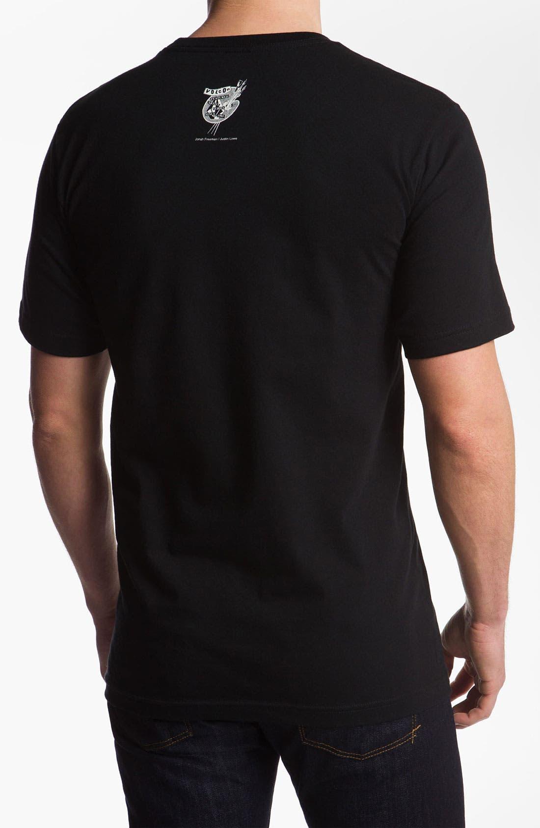 Alternate Image 2  - Volcom 'Jonah Freeman/Justin Lowe' Graphic T-Shirt