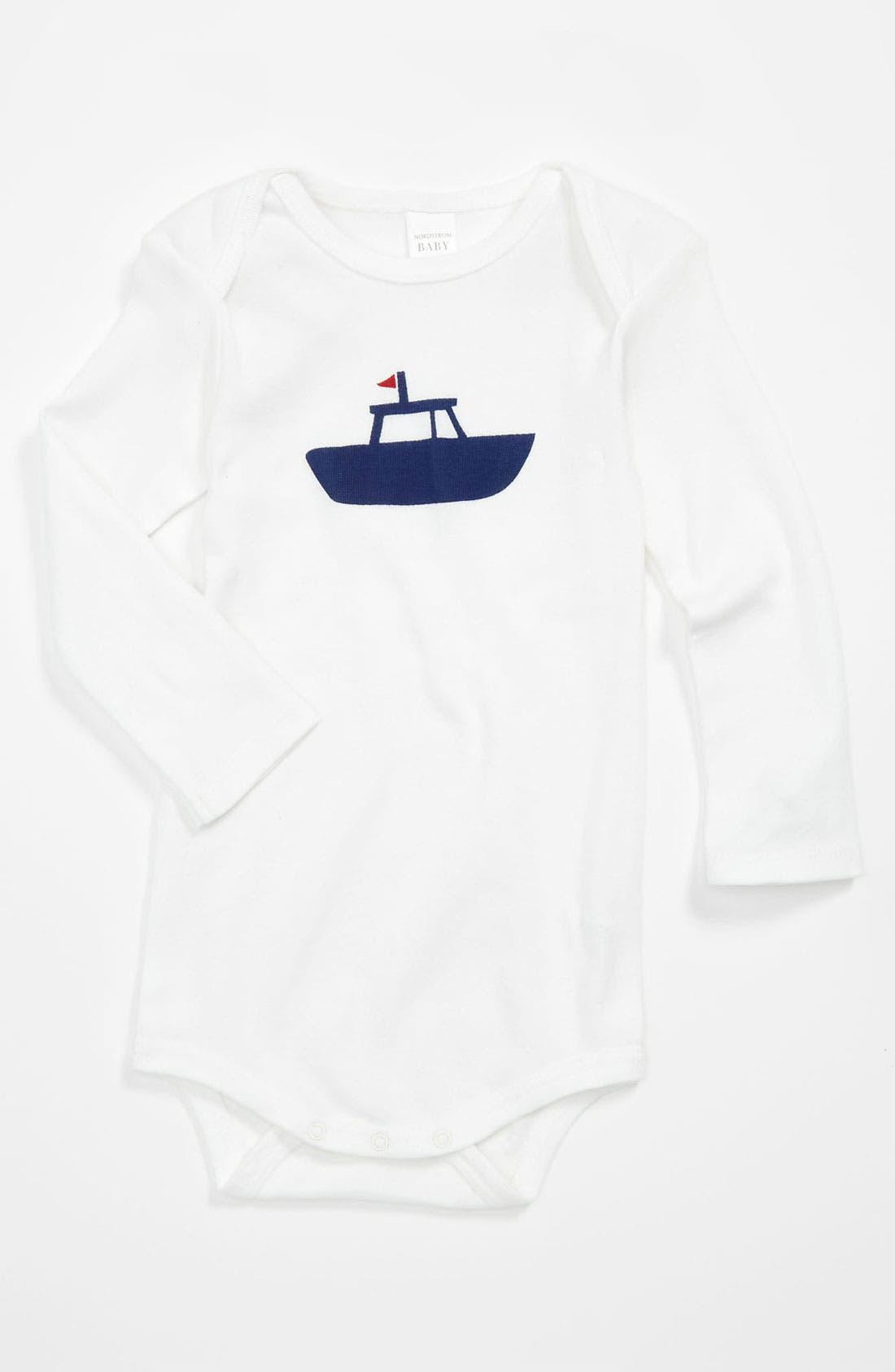 Alternate Image 1 Selected - Nordstrom Baby Bodysuit (Infant)
