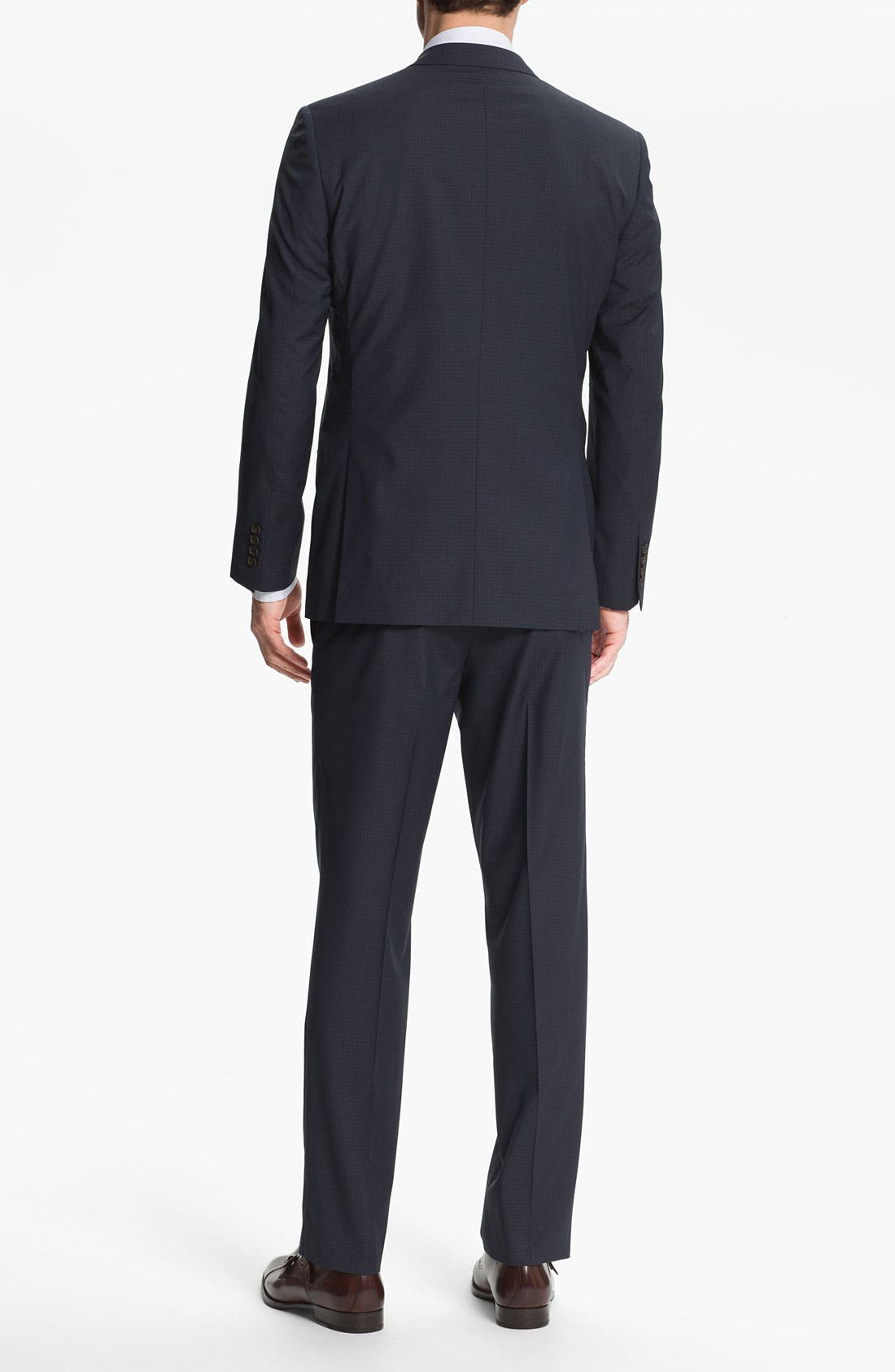 Alternate Image 3  - Ted Baker London Trim Fit Three Piece Suit