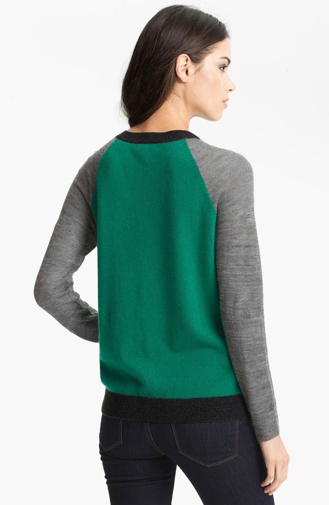Alternate Image 2  - Joie 'Wandie' Colorblock Cashmere Sweater