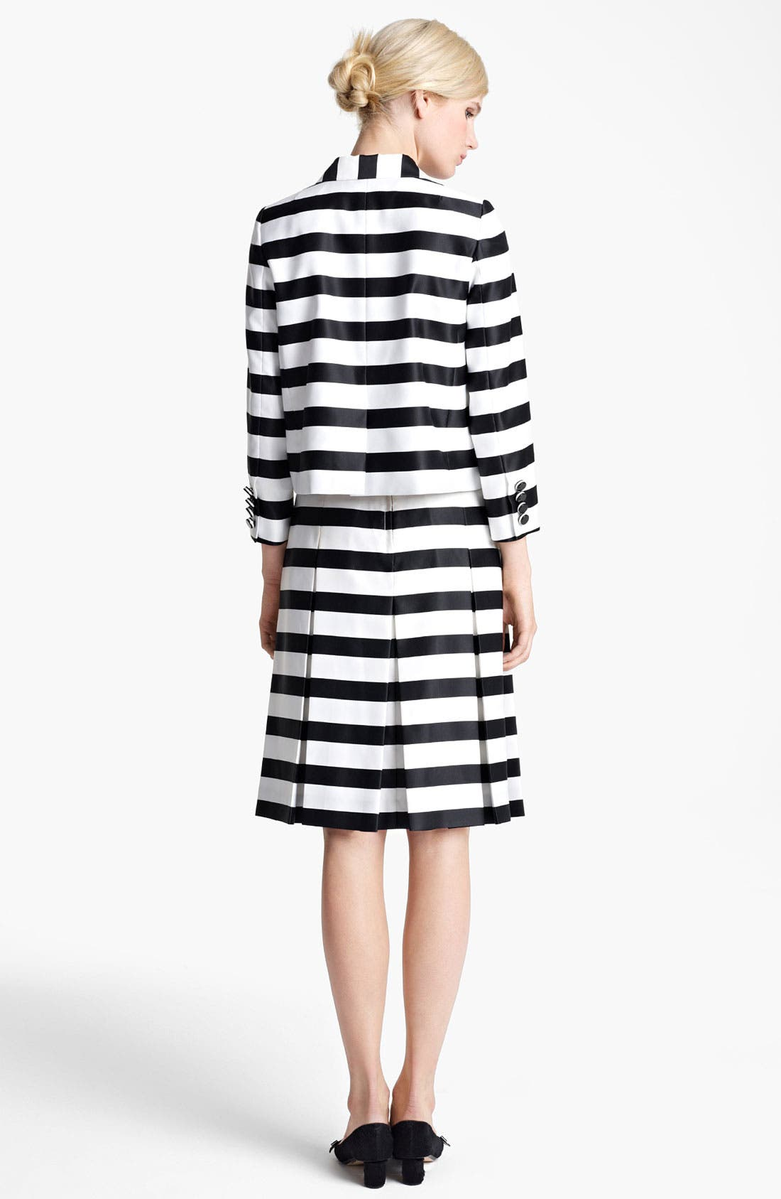 Alternate Image 4  - MARC JACOBS Large Stripe Satin Gabardine Skirt